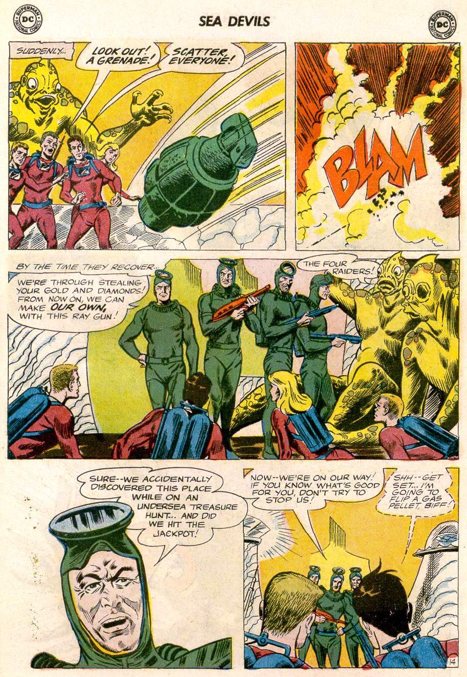 Read online Sea Devils comic -  Issue #20 - 19