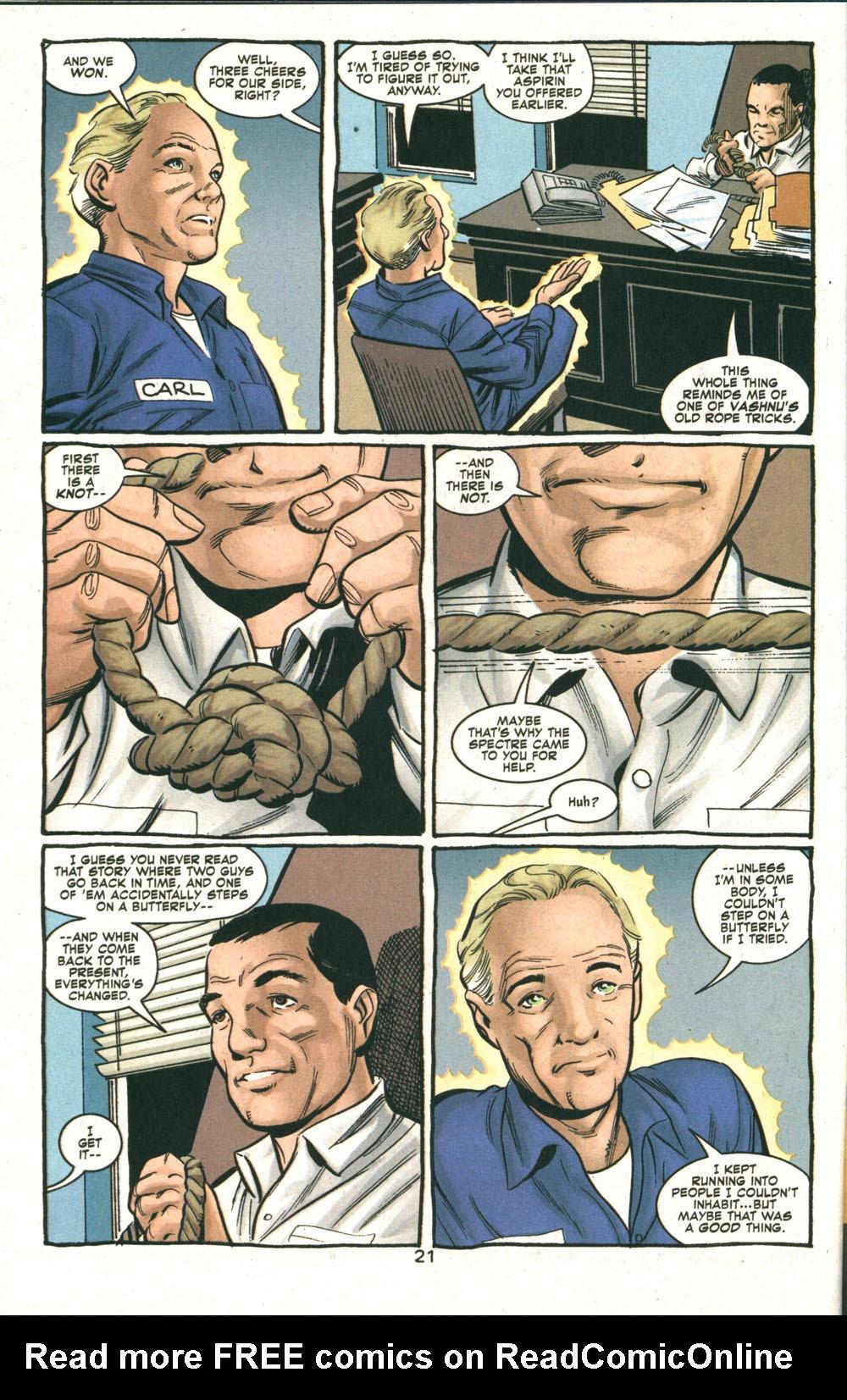 Read online Deadman: Dead Again comic -  Issue #5 - 22