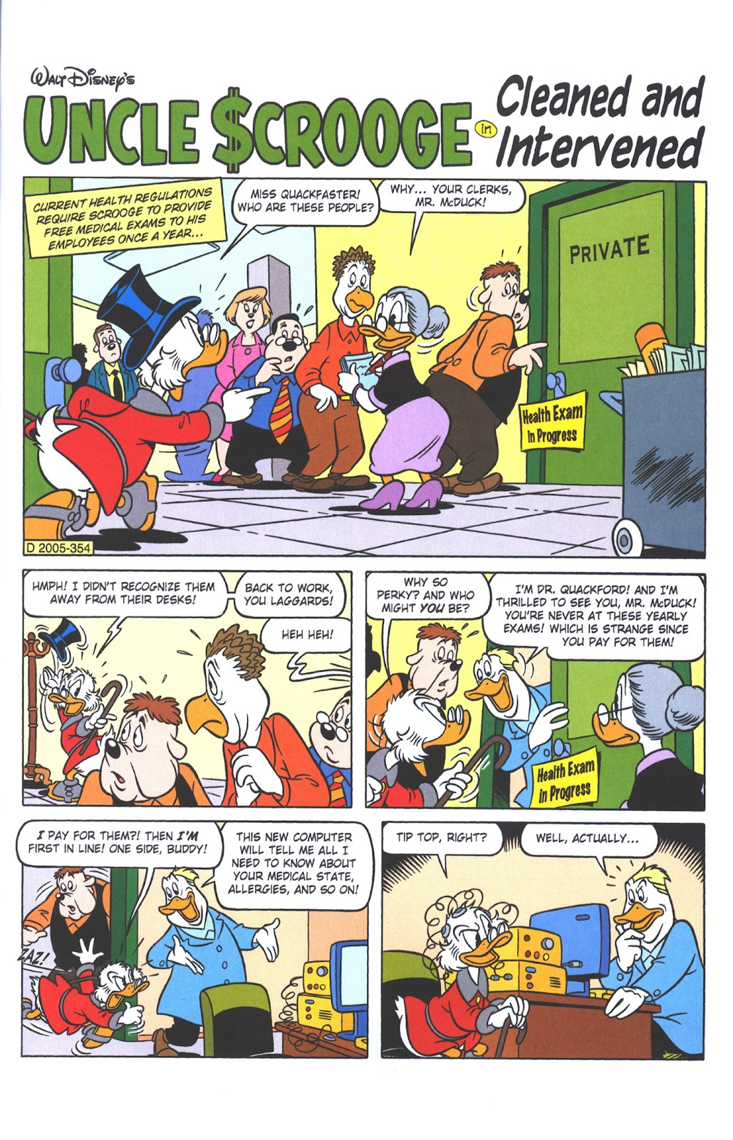 Uncle Scrooge (1953) Issue #381 #381 - English 45