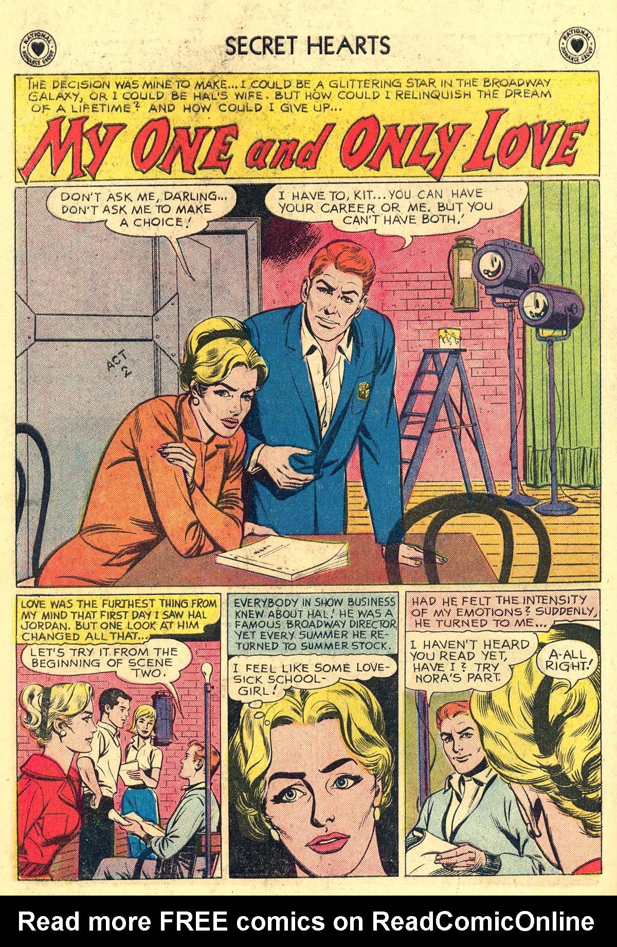 Read online Secret Hearts comic -  Issue #62 - 18