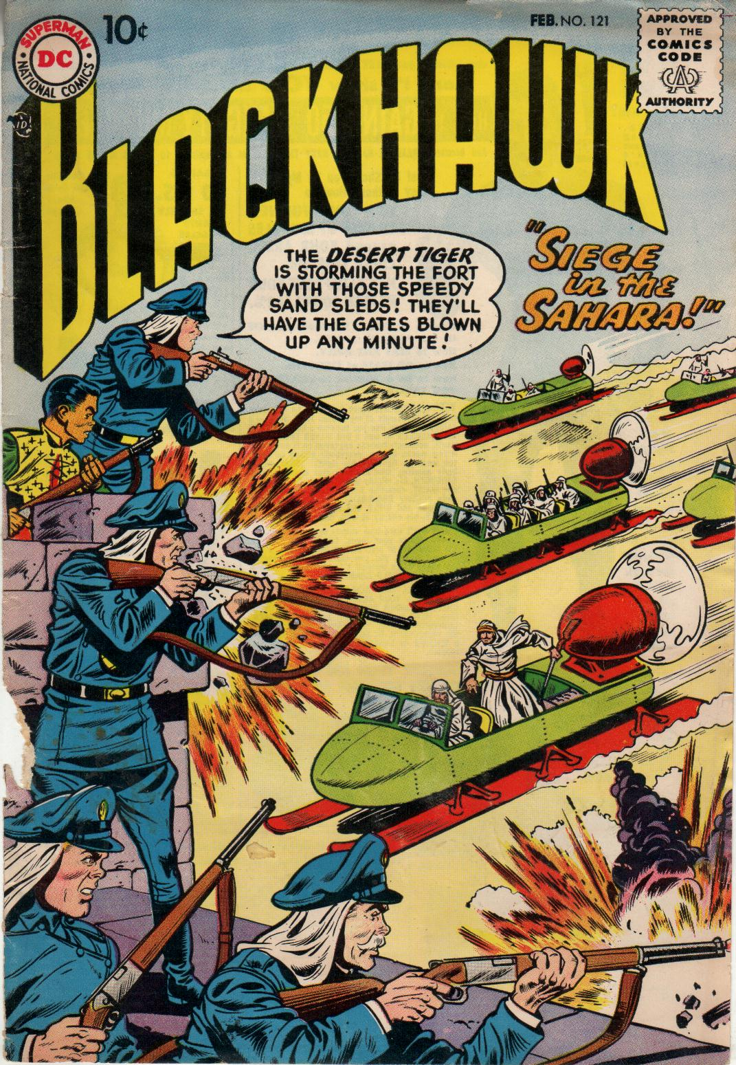 Blackhawk (1957) 121 Page 1