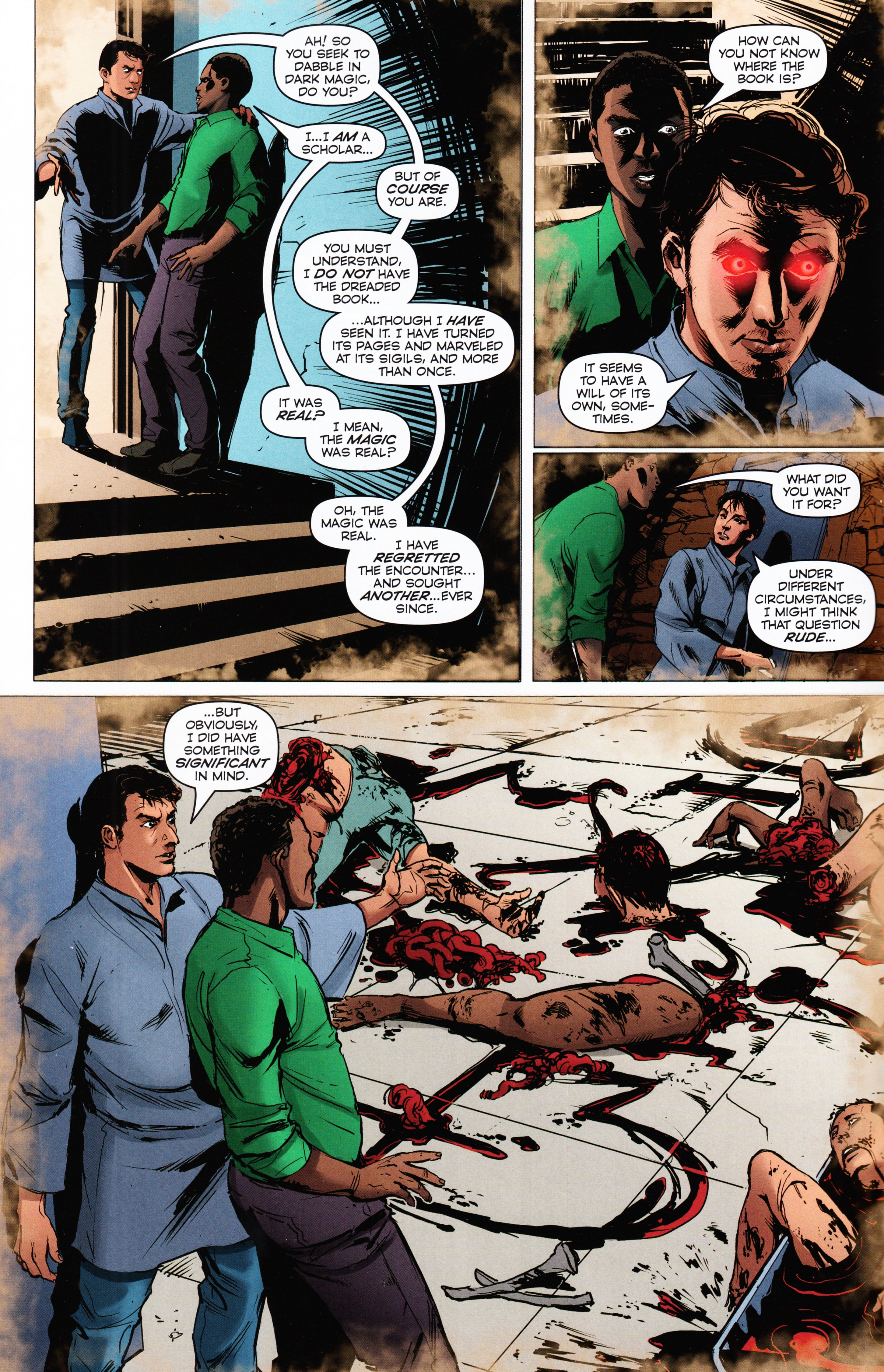 Read online Evil Dead 2: Tales of the Ex-Mortis comic -  Issue #2 - 8