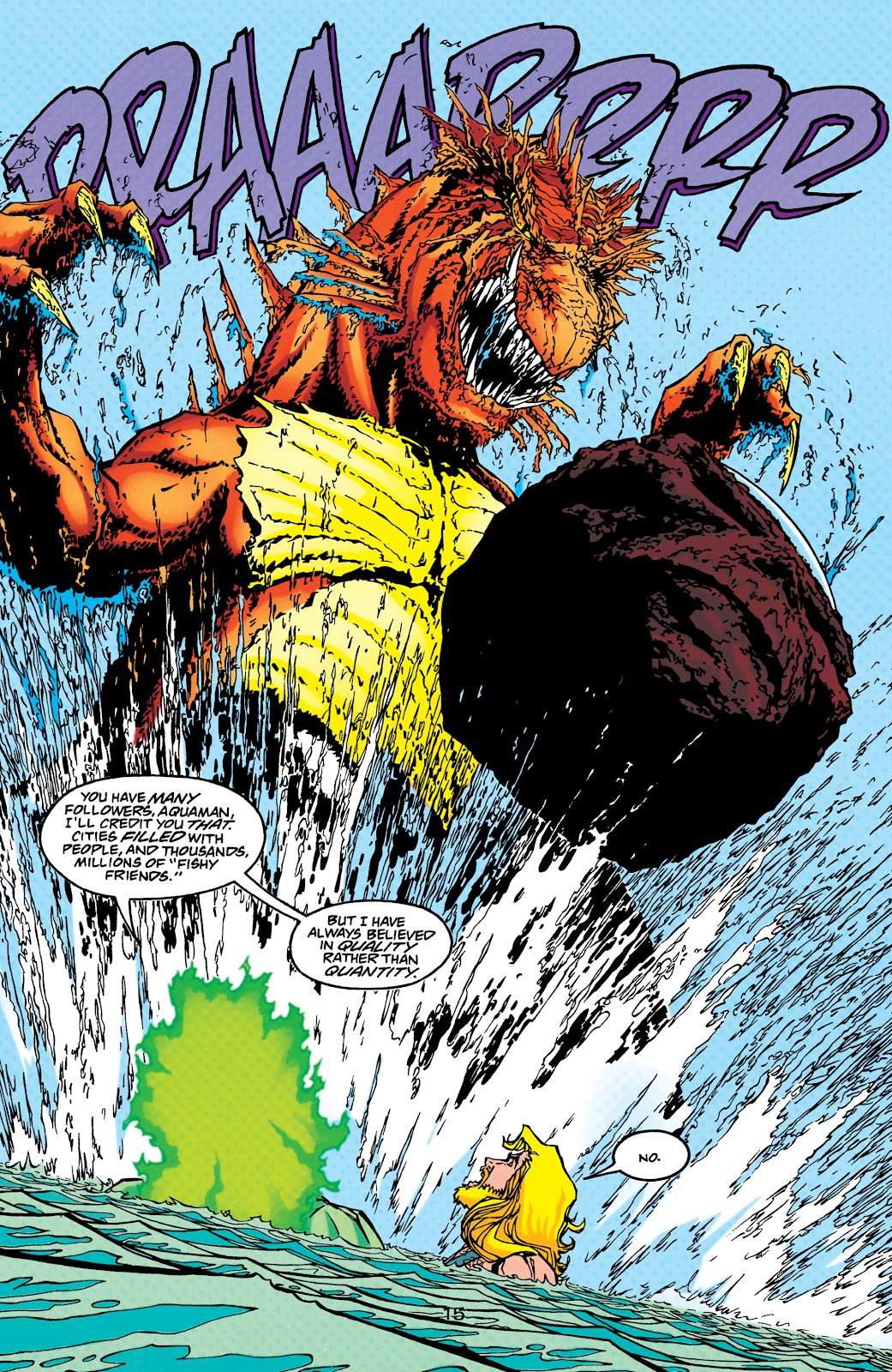Aquaman (1994) Issue #45 #51 - English 16