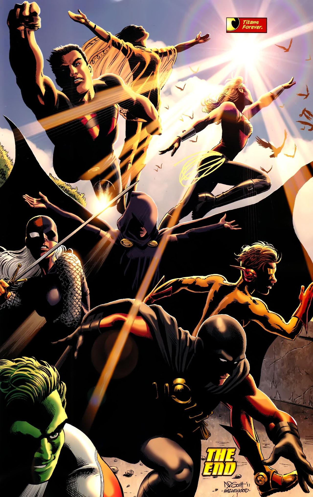 Teen Titans (2003) #100 #110 - English 30