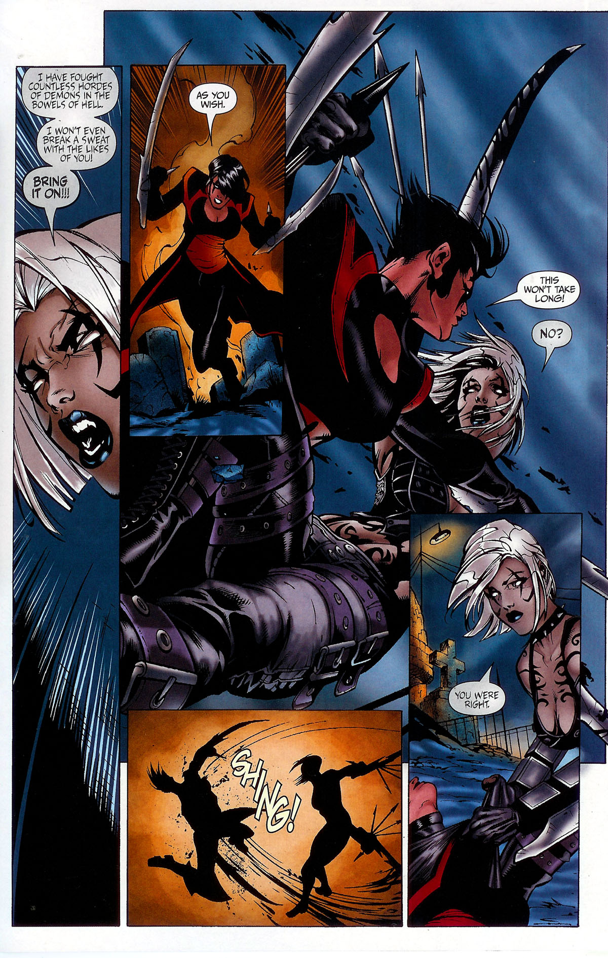 Read online BloodRayne: Dark Soul comic -  Issue # Full - 18