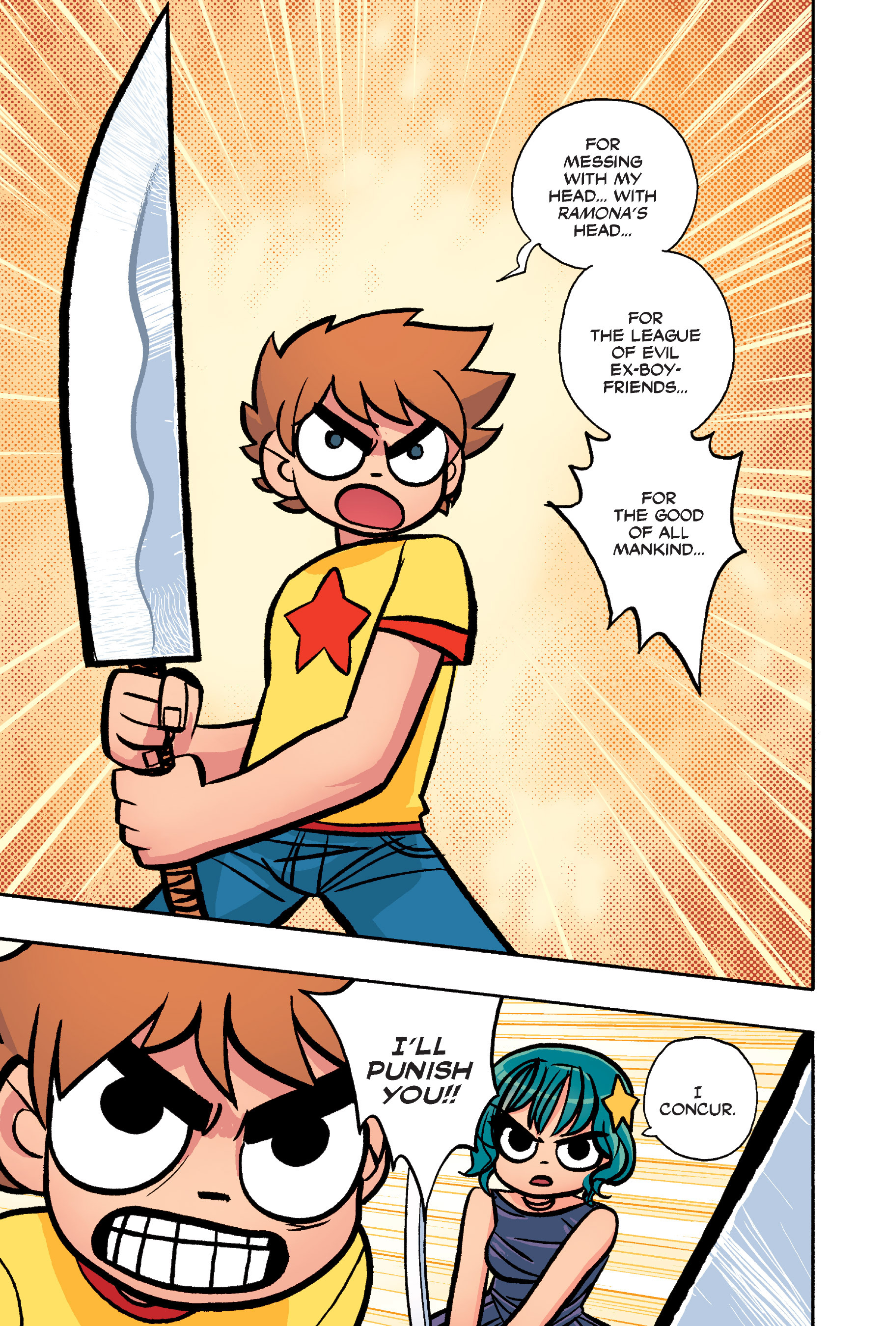 Read online Scott Pilgrim comic -  Issue #6 - 206