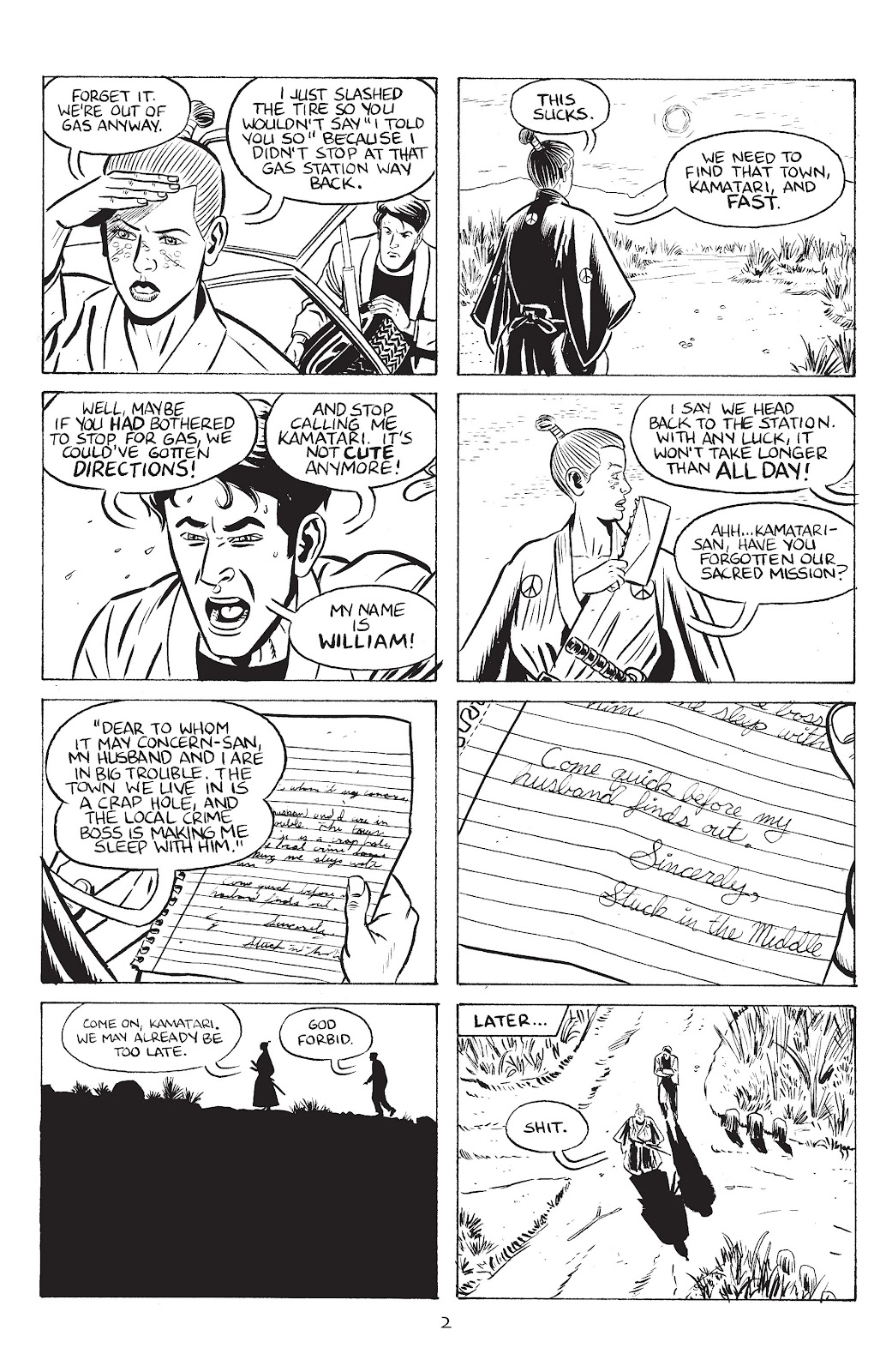 Stray Bullets Issue #39 #39 - English 4