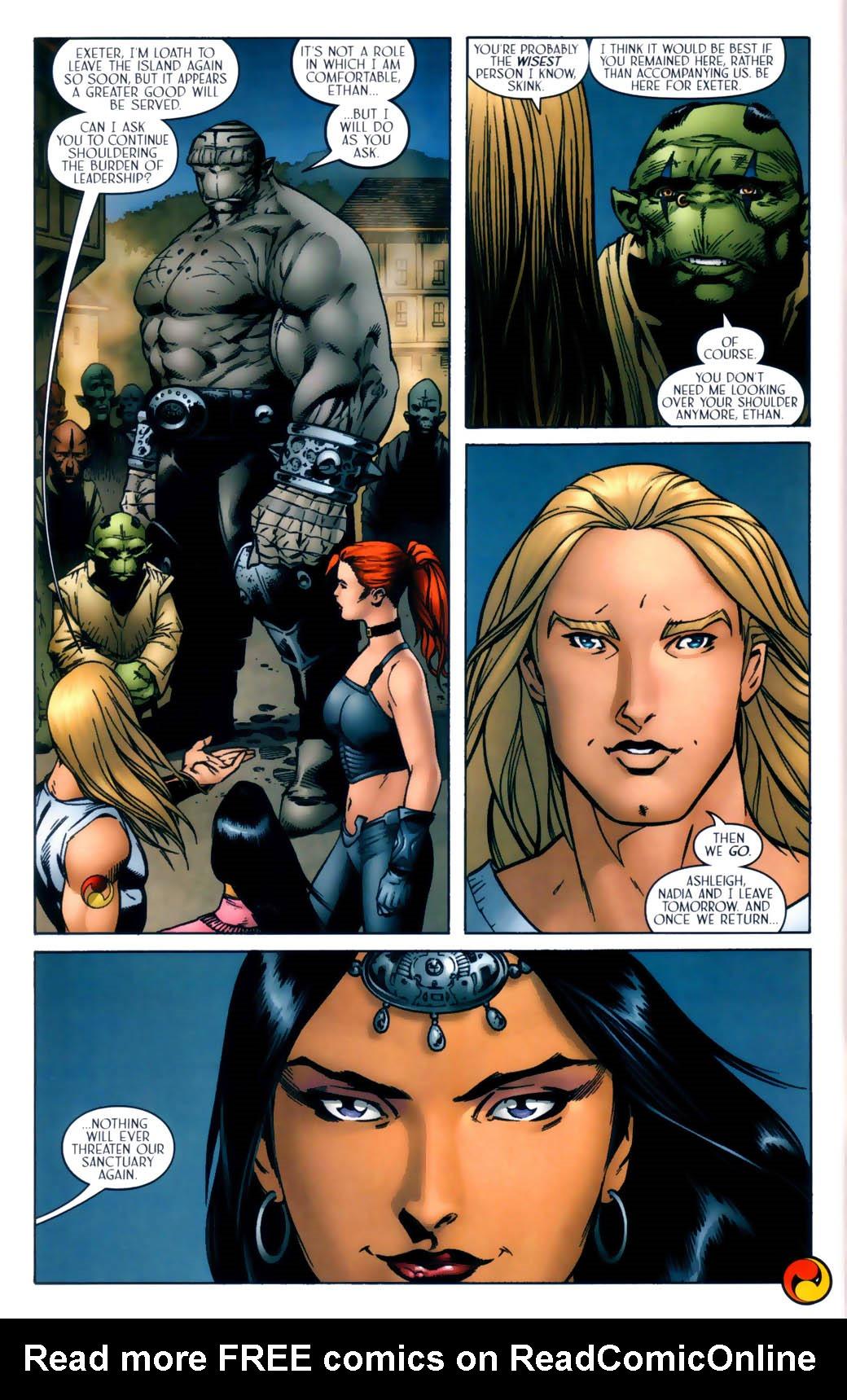 Read online Scion comic -  Issue #30 - 24