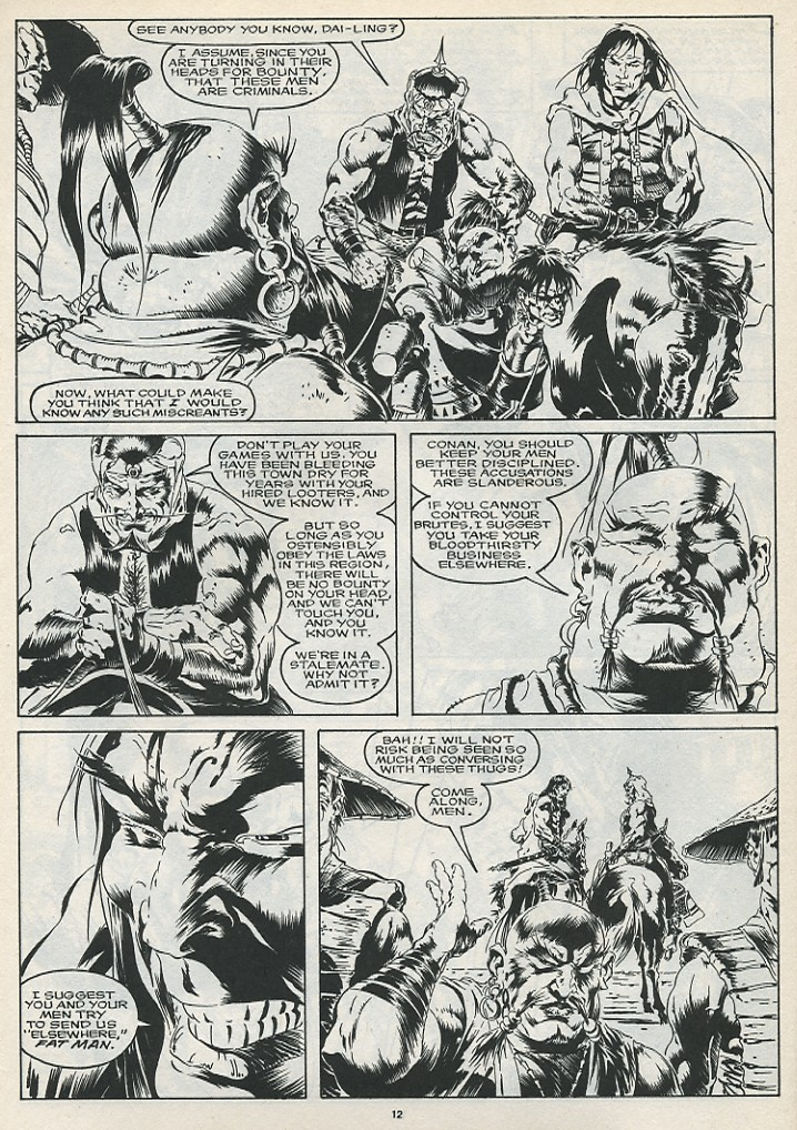The Savage Sword Of Conan Issue #175 #176 - English 14