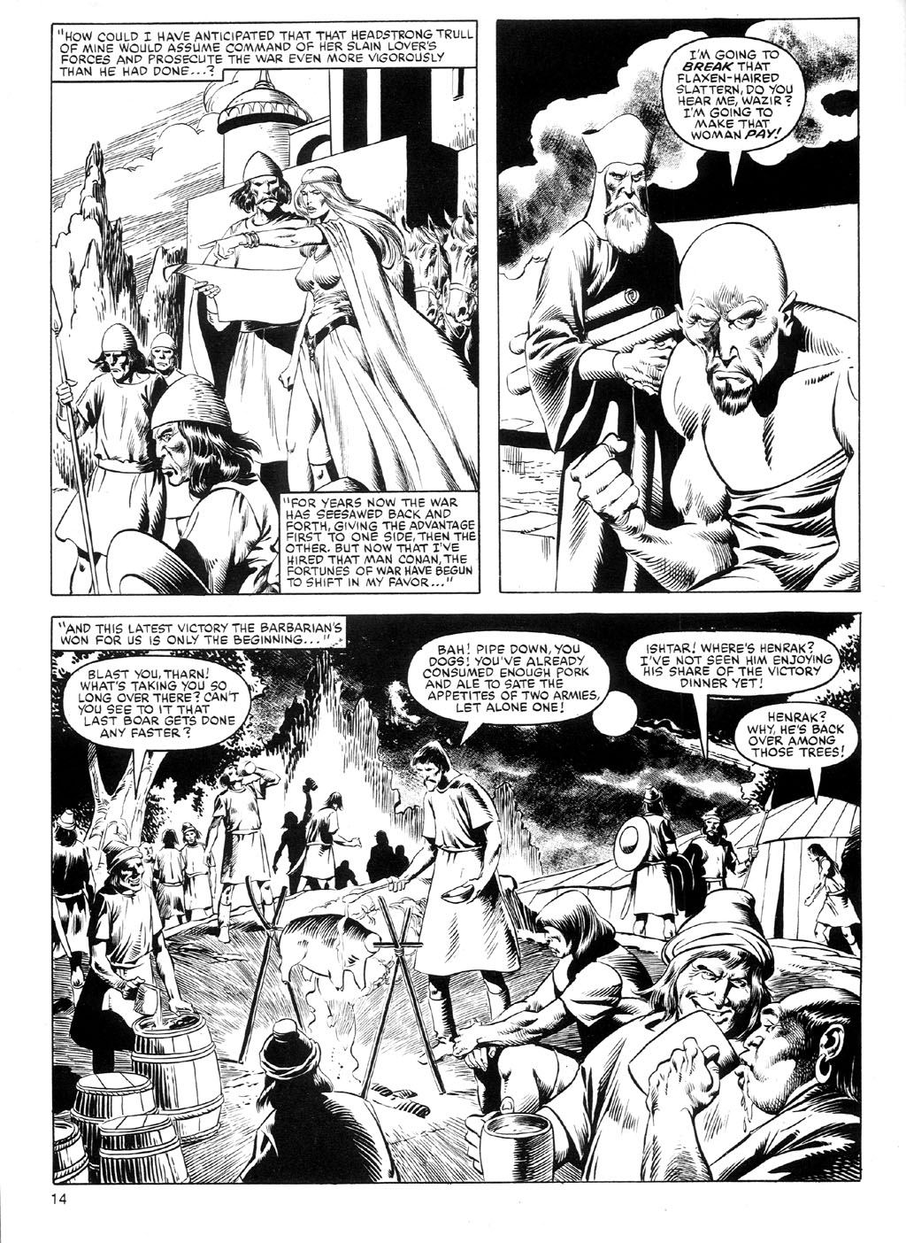 The Savage Sword Of Conan Issue #91 #92 - English 13