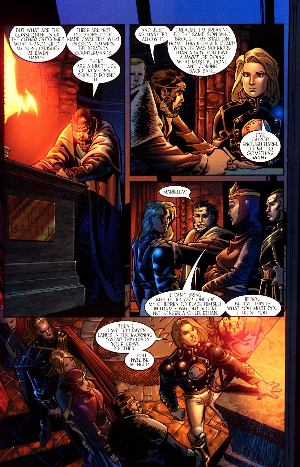 Read online Scion comic -  Issue #7 - 20