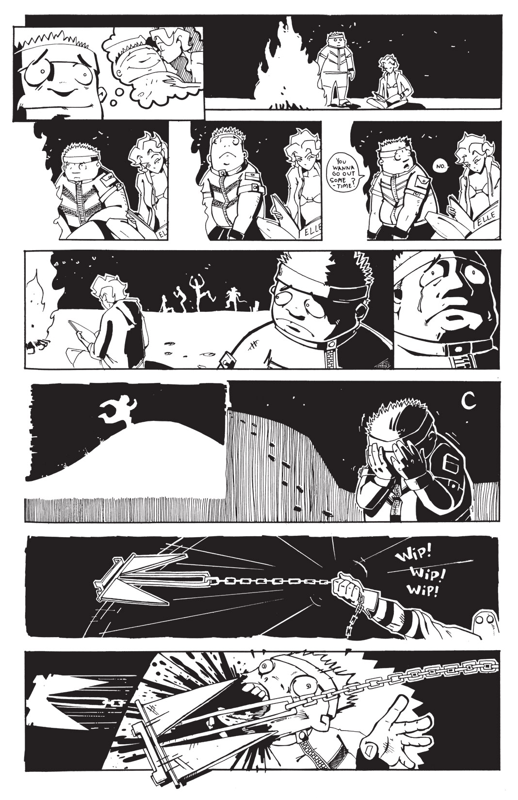 Read online Scud: The Disposable Assassin: The Whole Shebang comic -  Issue # TPB (Part 3) - 120