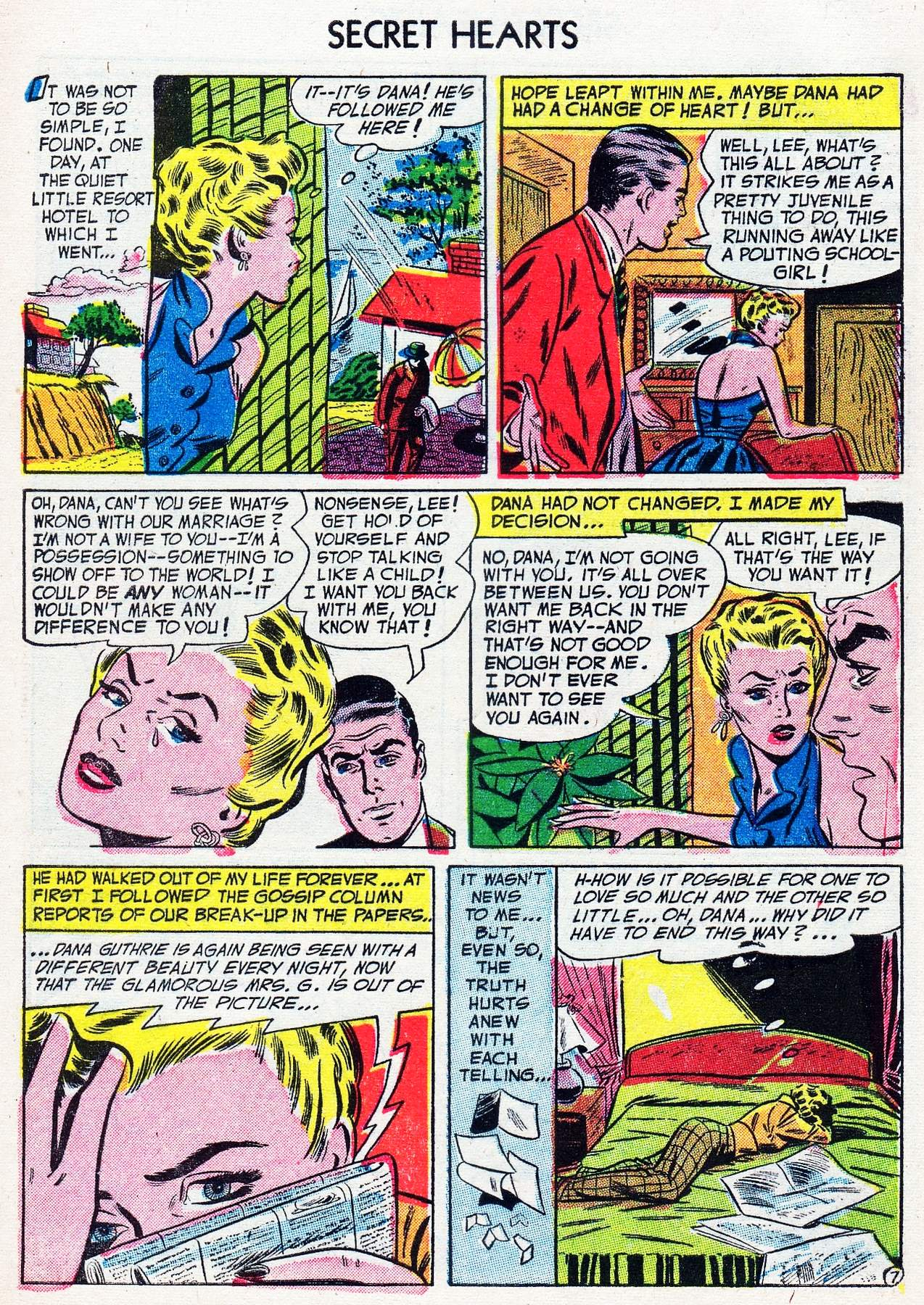 Read online Secret Hearts comic -  Issue #16 - 9