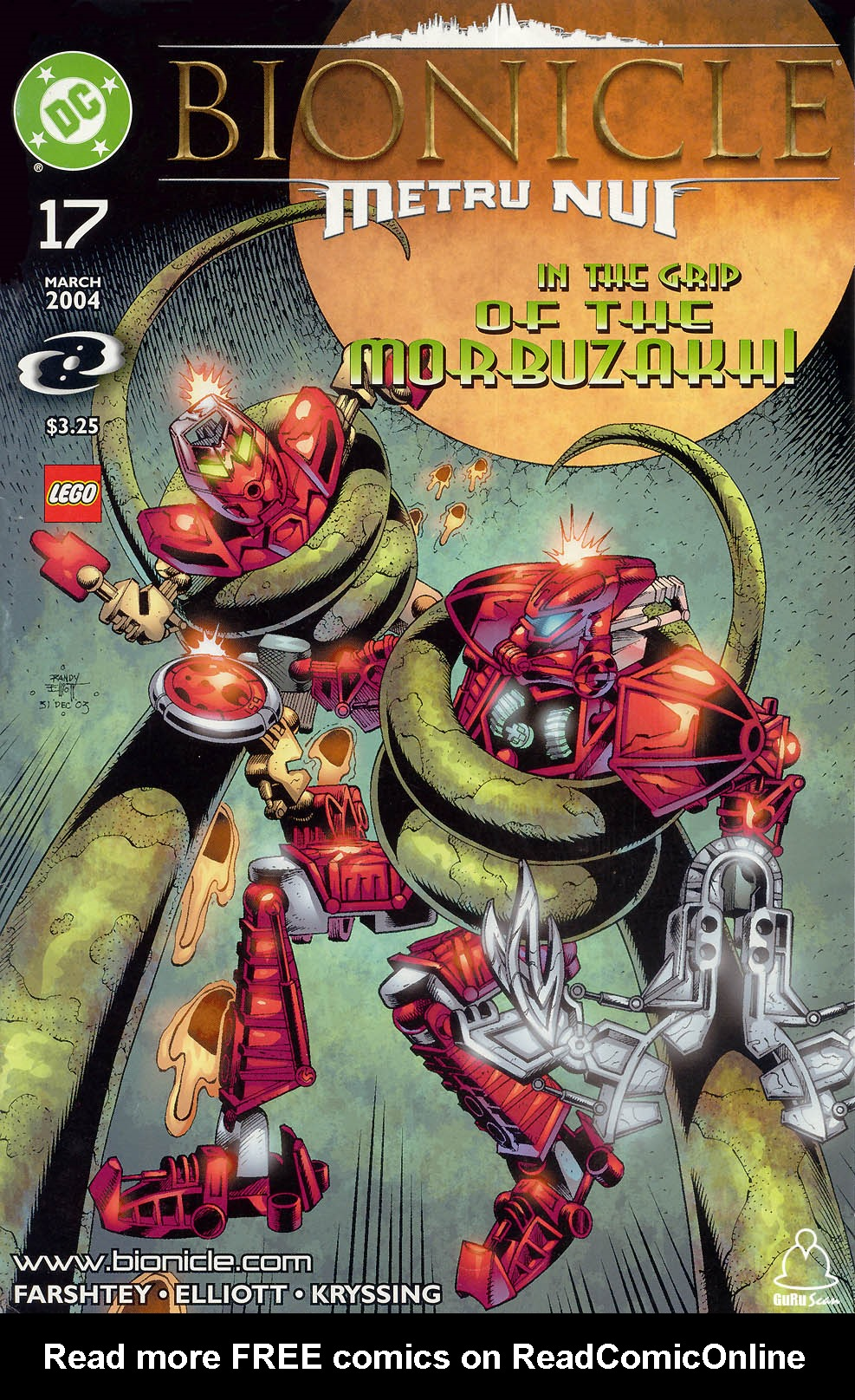Bionicle 17 Page 1