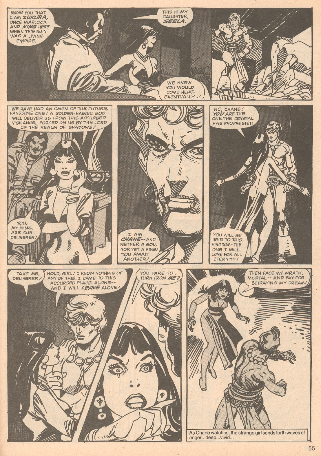The Savage Sword Of Conan Issue #67 #68 - English 55