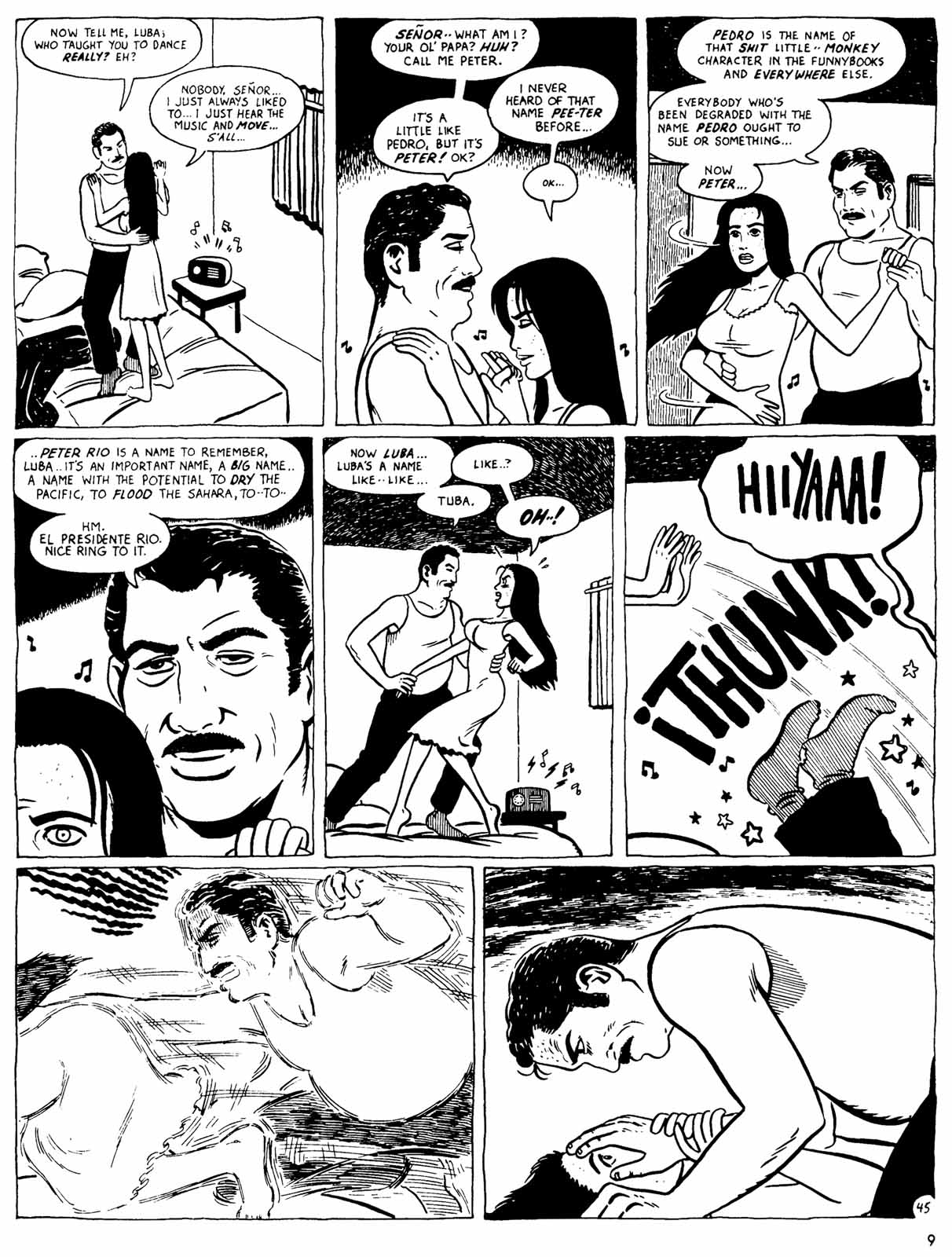 Love and Rockets (1982) Issue #31 #29 - English 11
