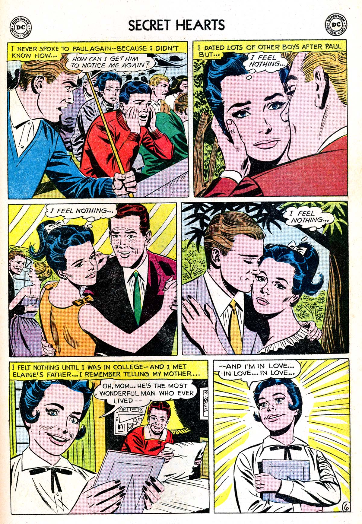 Read online Secret Hearts comic -  Issue #85 - 15