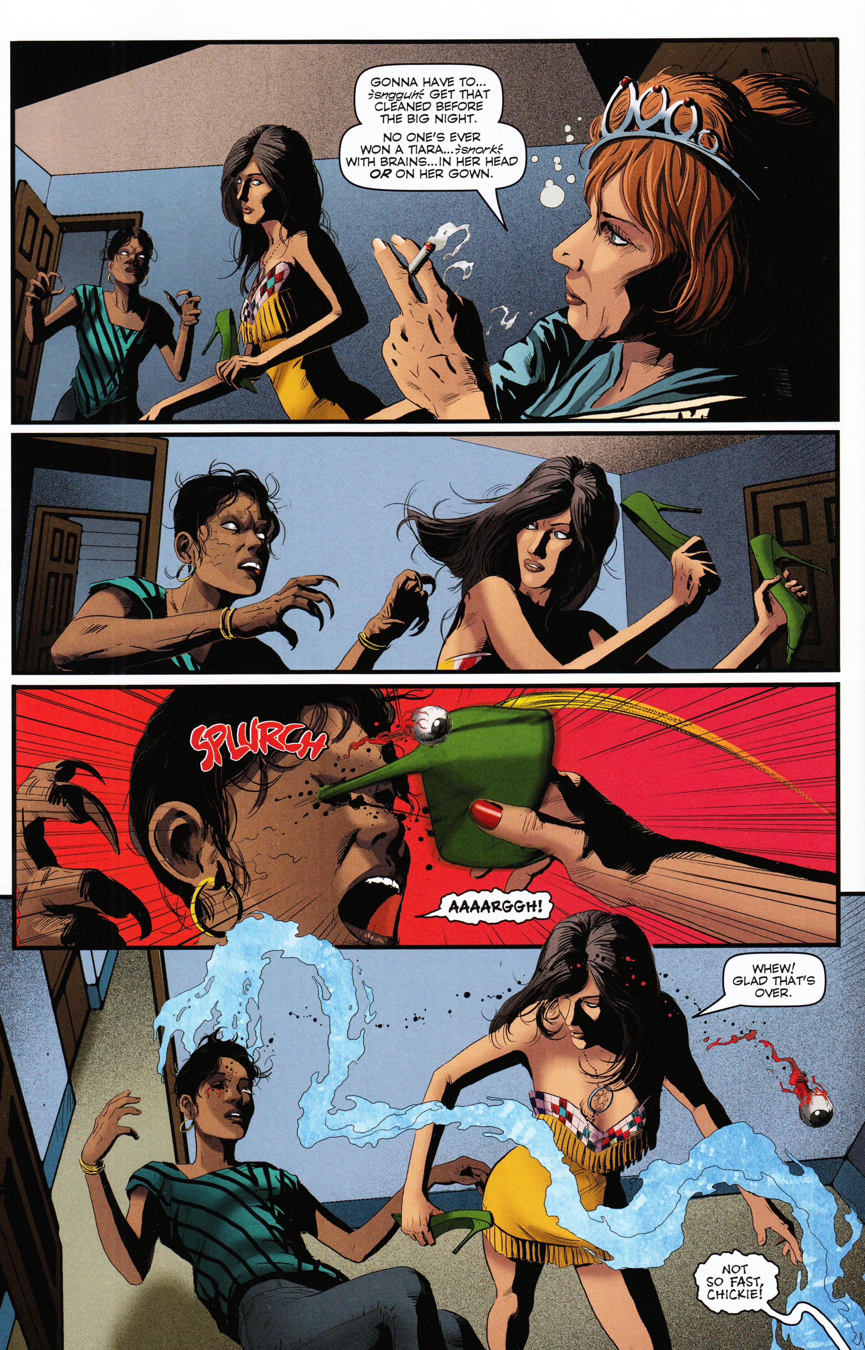 Read online Evil Dead 2: Tales of the Ex-Mortis comic -  Issue #2 - 36