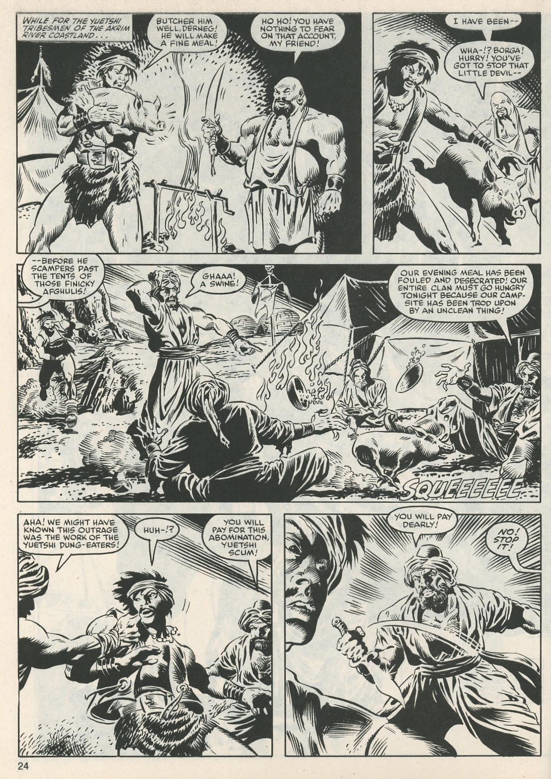 The Savage Sword Of Conan Issue #112 #113 - English 25