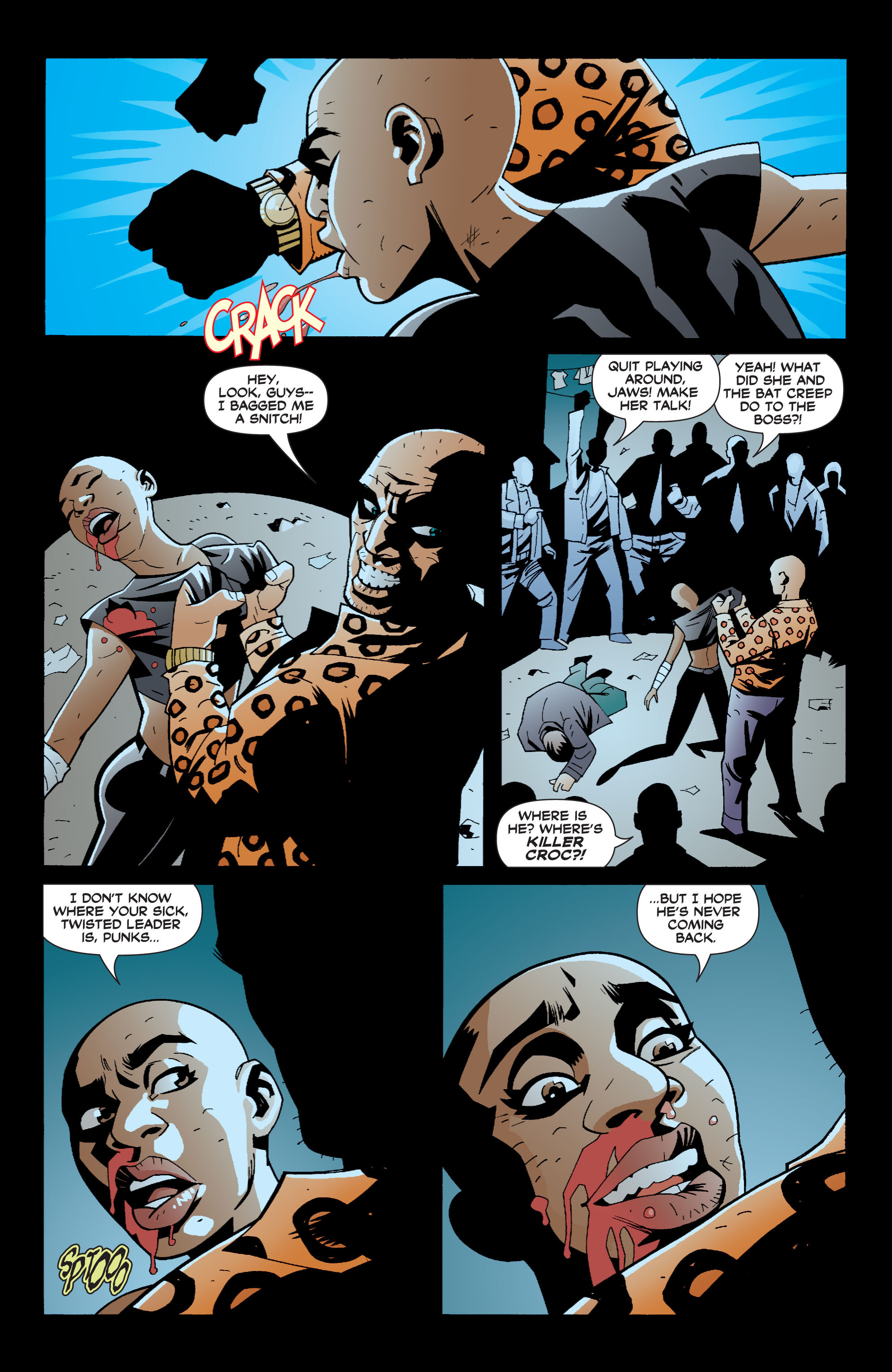 Read online Batman: War Games comic -  Issue #6 - 5