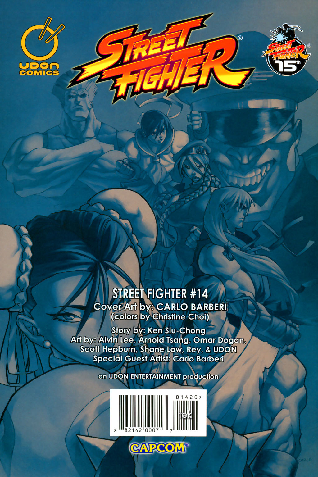 Street Fighter (2003) Issue #14 #15 - English 30
