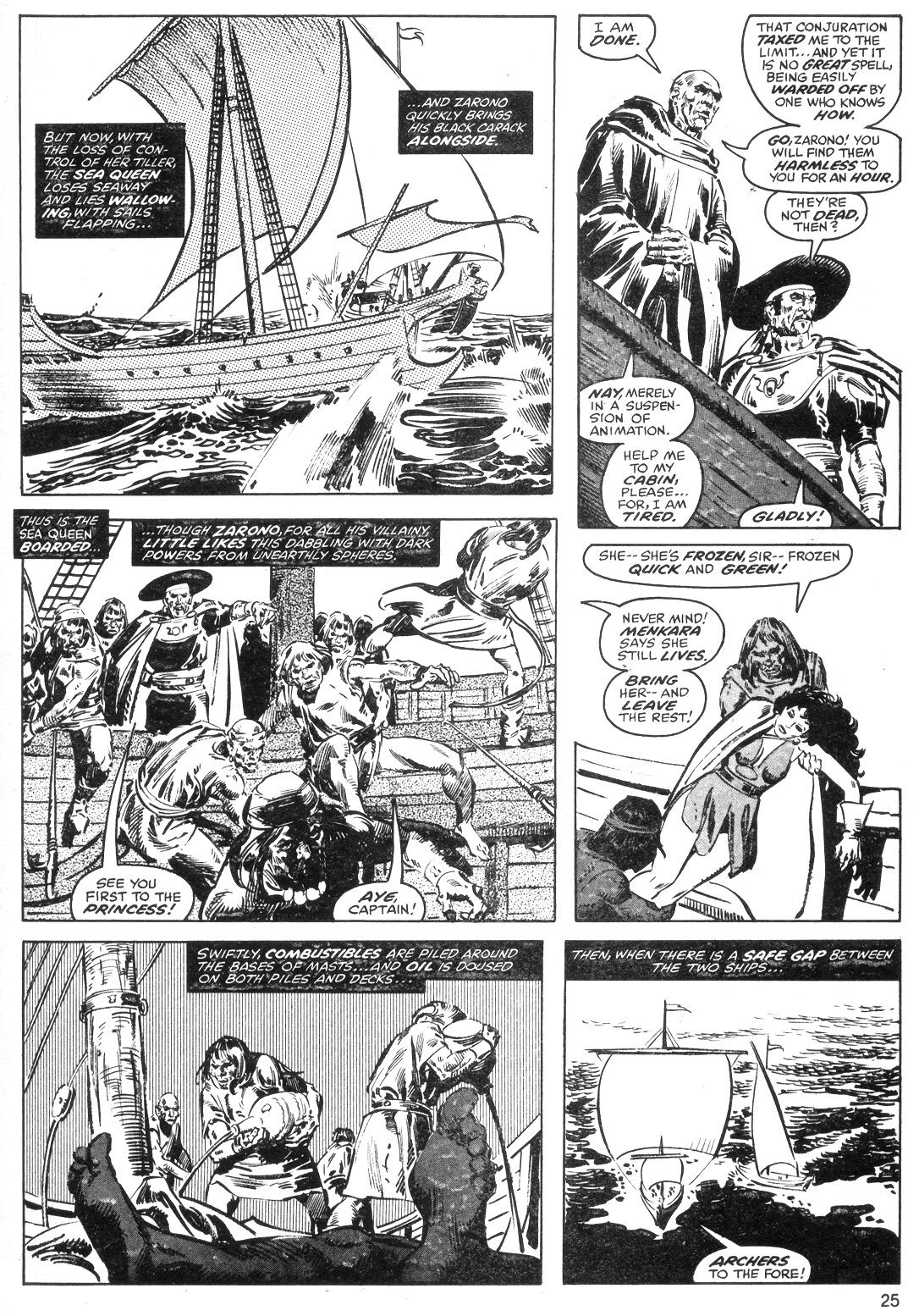 The Savage Sword Of Conan Issue #40 #41 - English 25