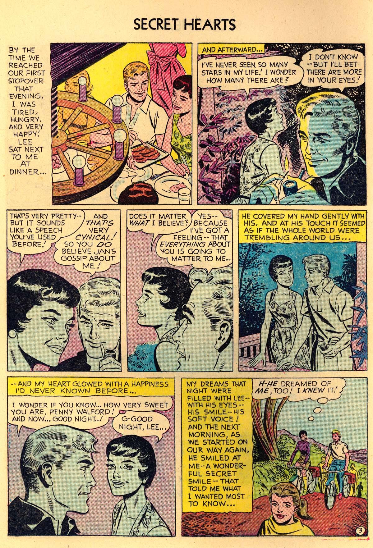 Read online Secret Hearts comic -  Issue #35 - 12