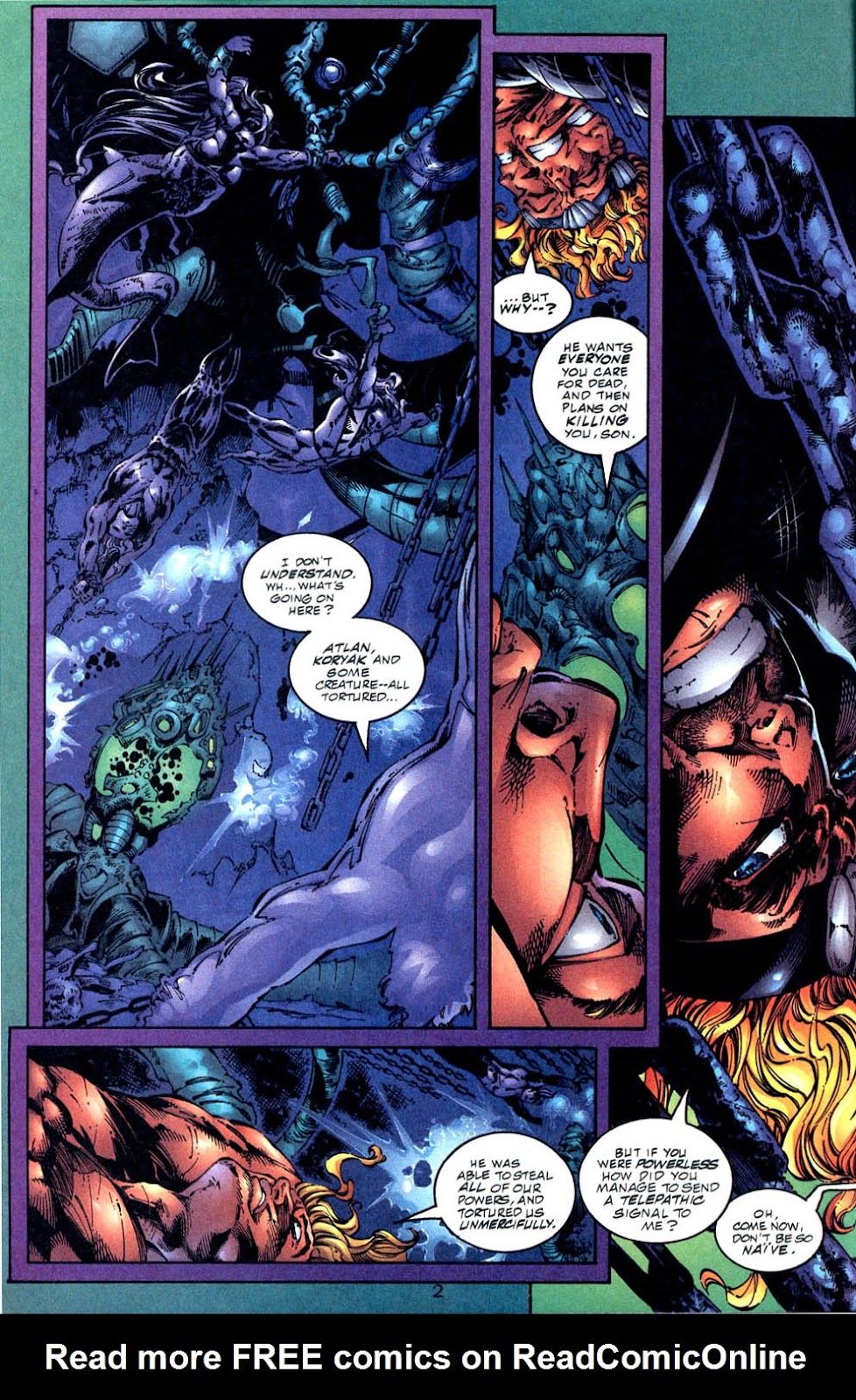 Aquaman (1994) Issue #57 #63 - English 3