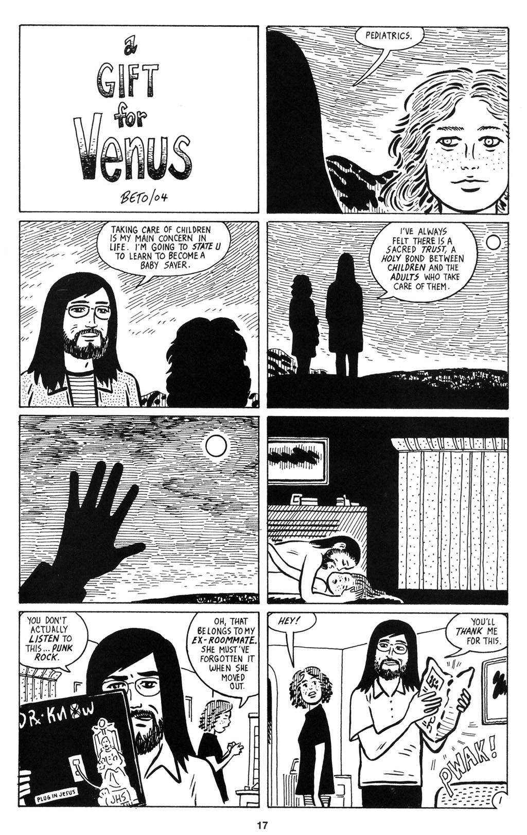 Read online Love and Rockets (2001) comic -  Issue #12 - 18
