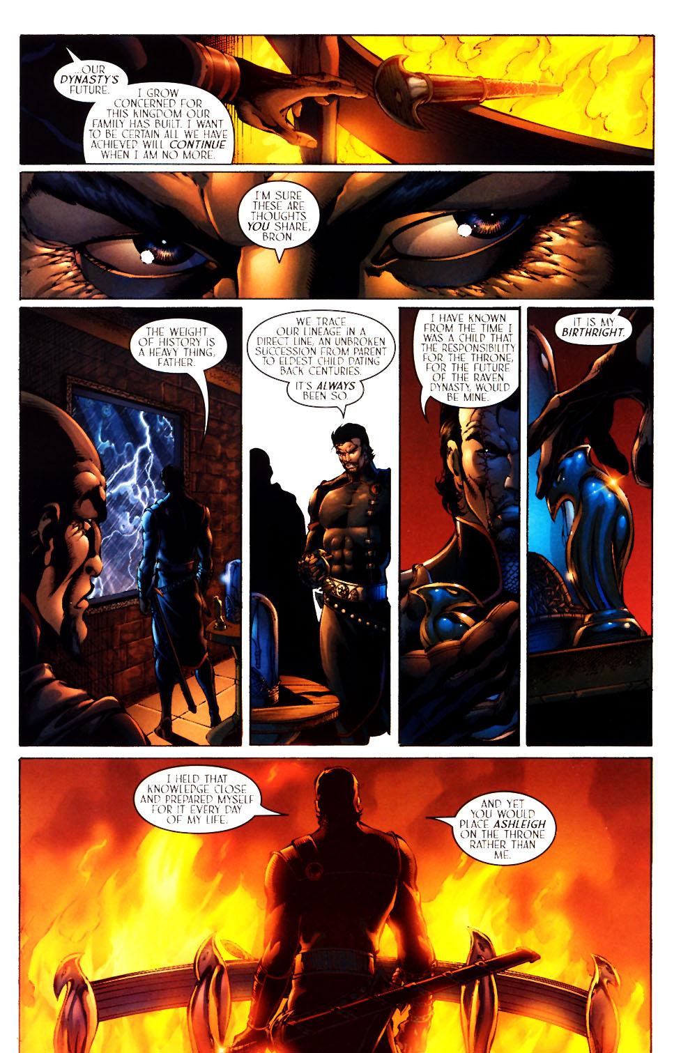 Read online Scion comic -  Issue #12 - 9