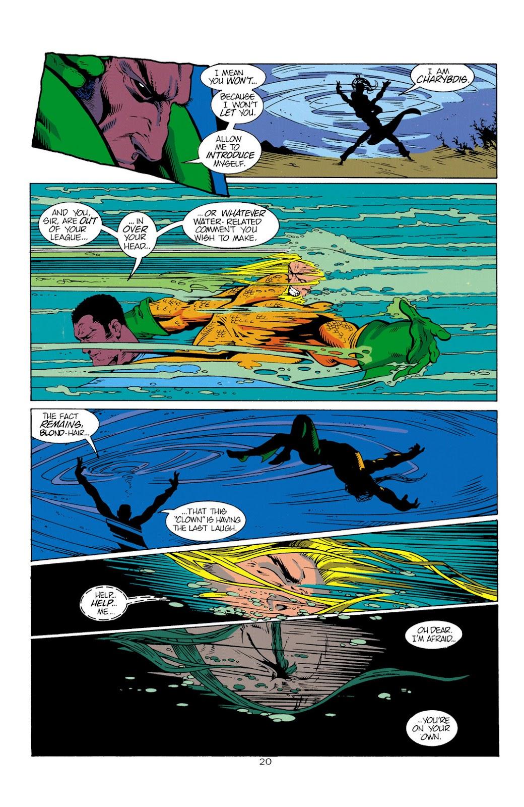 Aquaman (1994) Issue #1 #7 - English 21