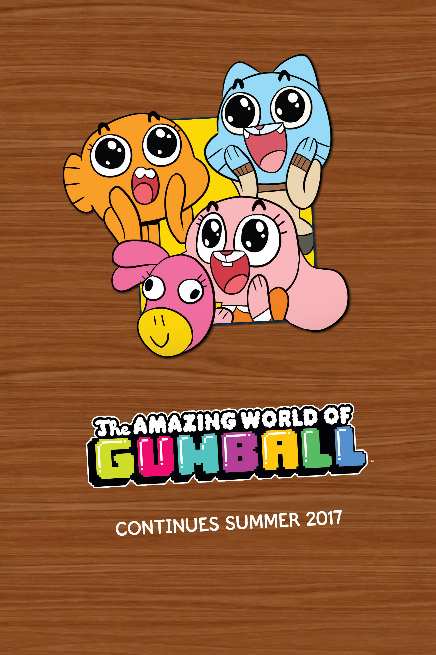 the amazing world of reading نام انیمیشن: the amazing world of gumball season 1-6 - فصل اول الی ششم انیمیشن سریالی دنیای شگفت انگیز گامبال the amazing world of gumball (known also as gumball) is a british-american-irish children's animated television series created by ben bocquelet for cartoon.