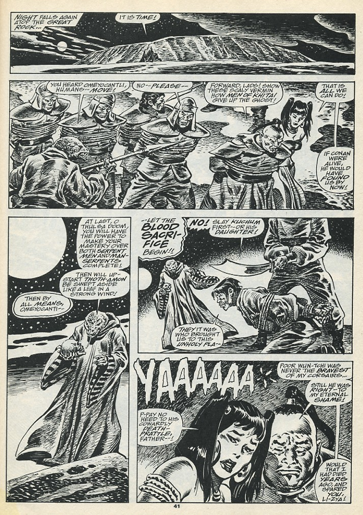 The Savage Sword Of Conan Issue #193 #194 - English 43