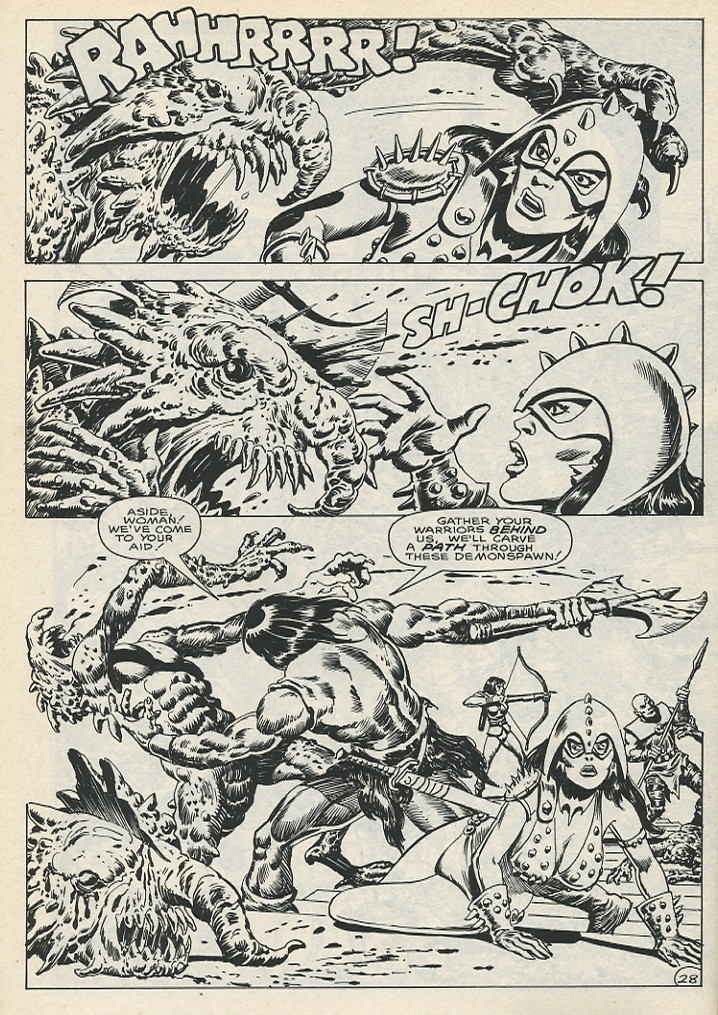 The Savage Sword Of Conan Issue #141 #142 - English 34