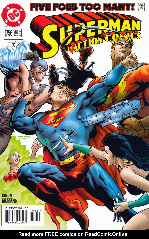 Action Comics (1938) 756 Page 1