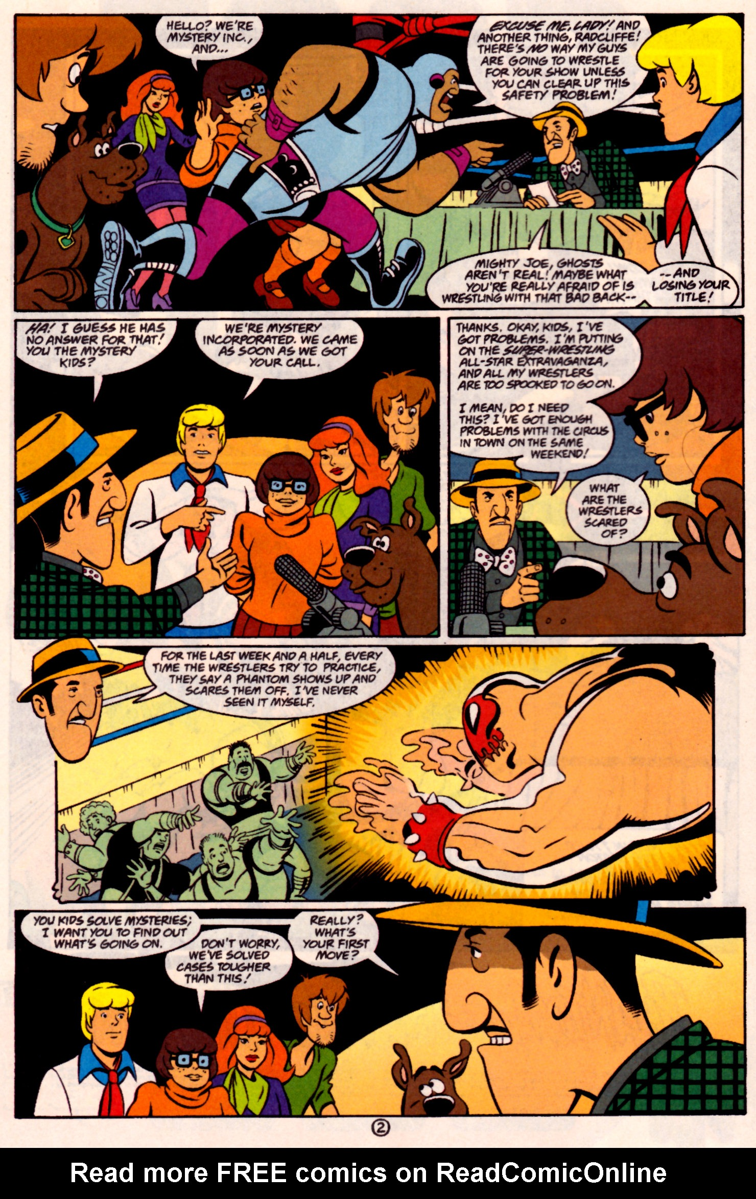 Read online Scooby-Doo (1997) comic -  Issue #31 - 3