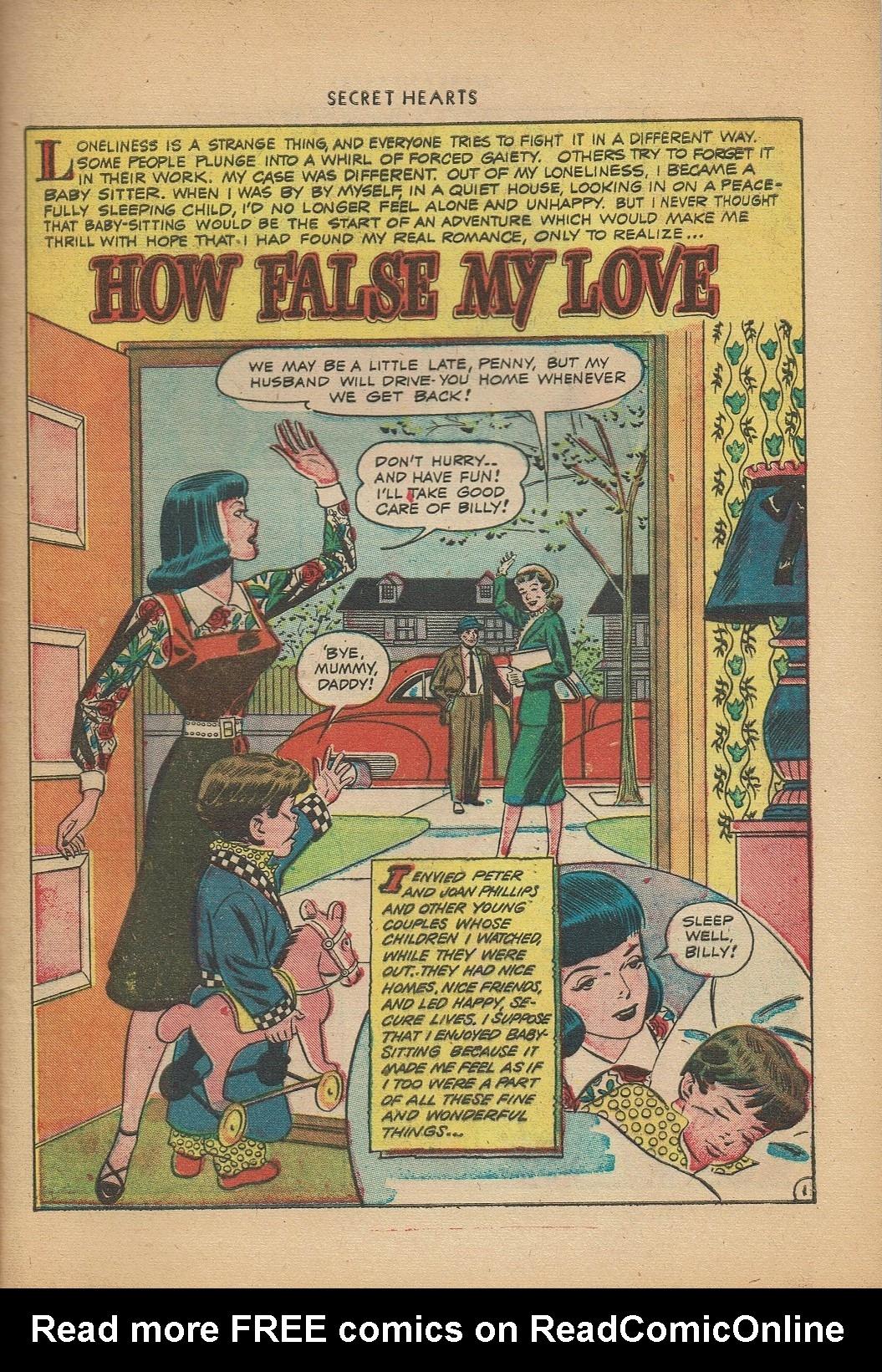 Read online Secret Hearts comic -  Issue #2 - 25