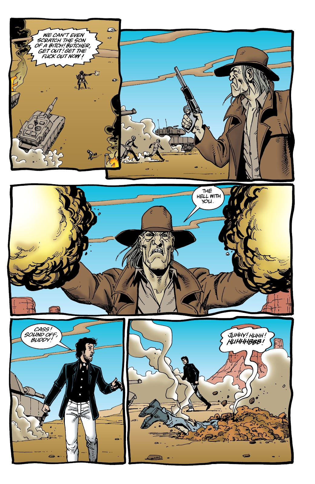 Preacher Issue #37 #46 - English 8