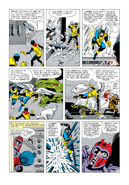 Uncanny X-Men (1963) 5 Page 22