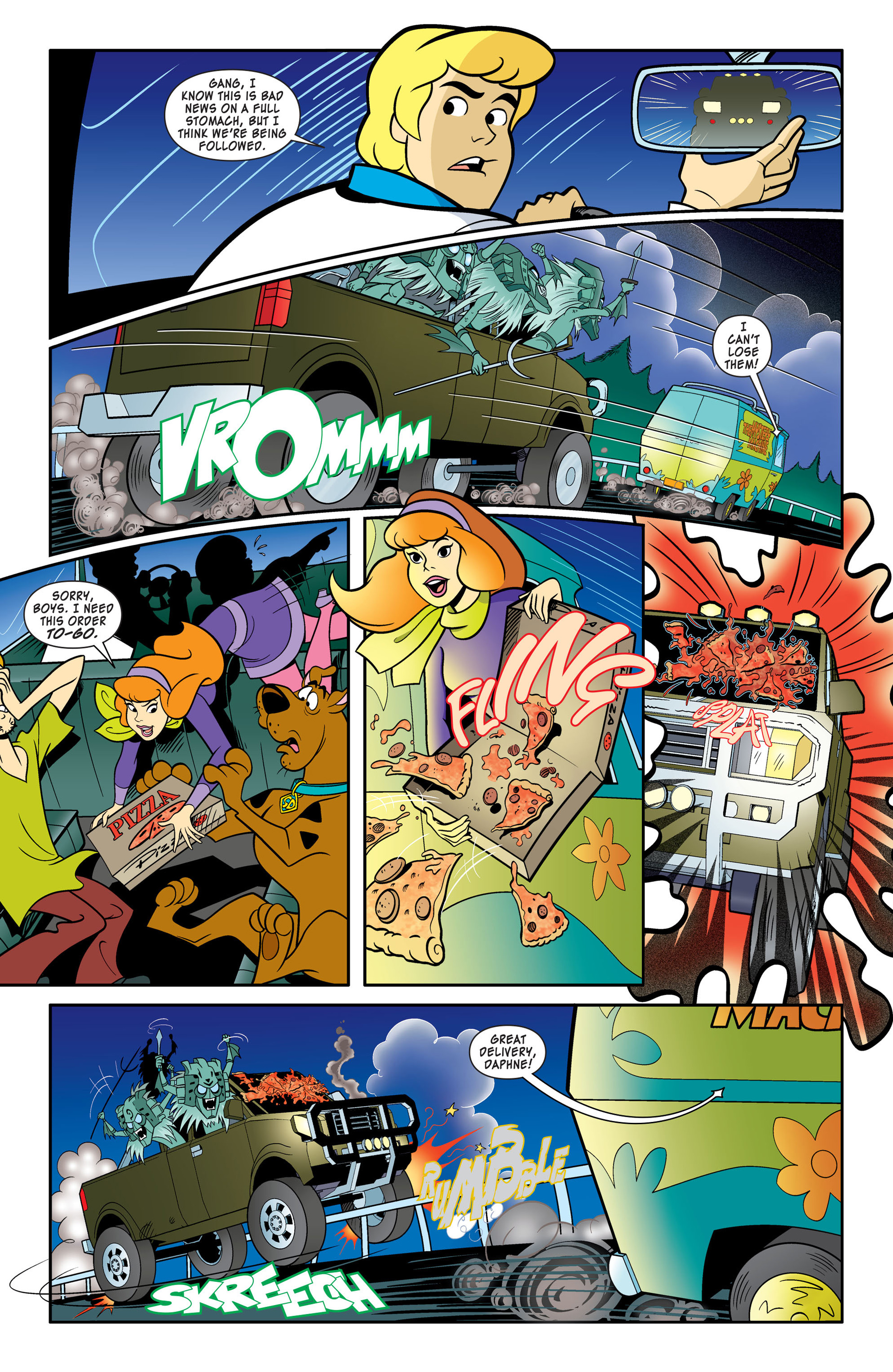 Read online Scooby-Doo: Where Are You? comic -  Issue #46 - 7