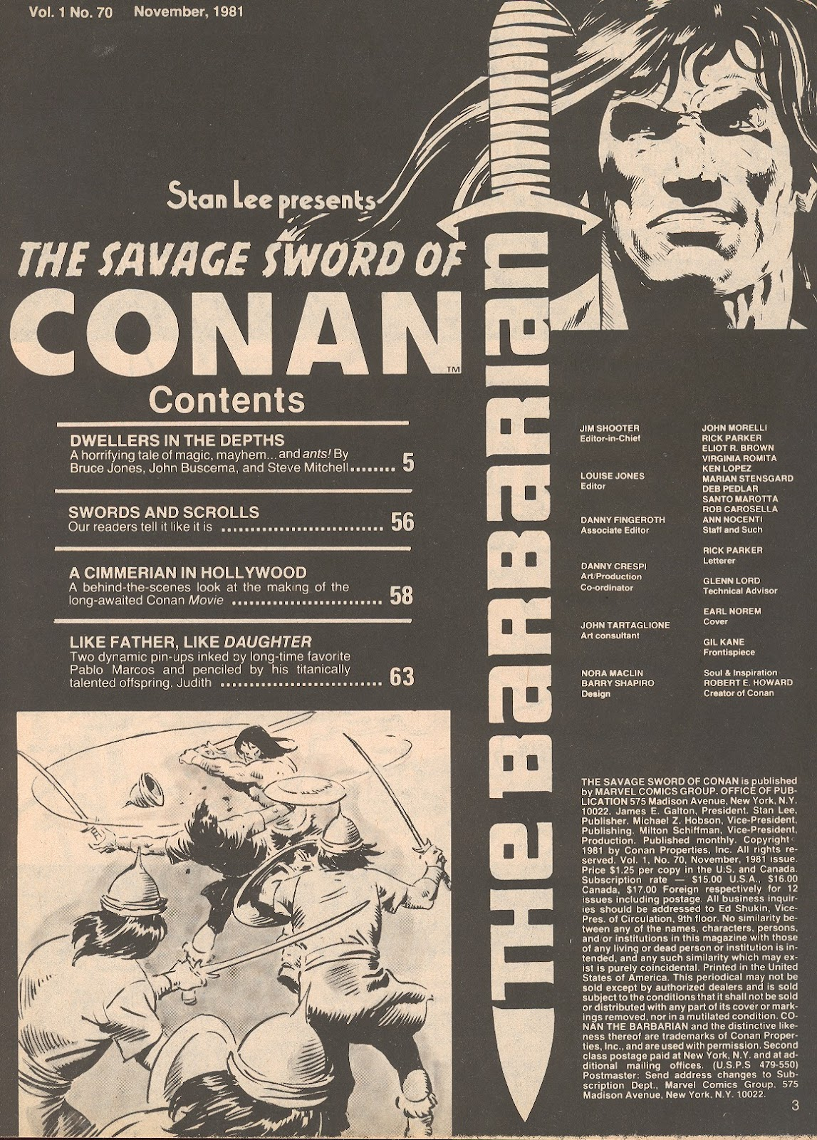 The Savage Sword Of Conan Issue #70 #71 - English 3