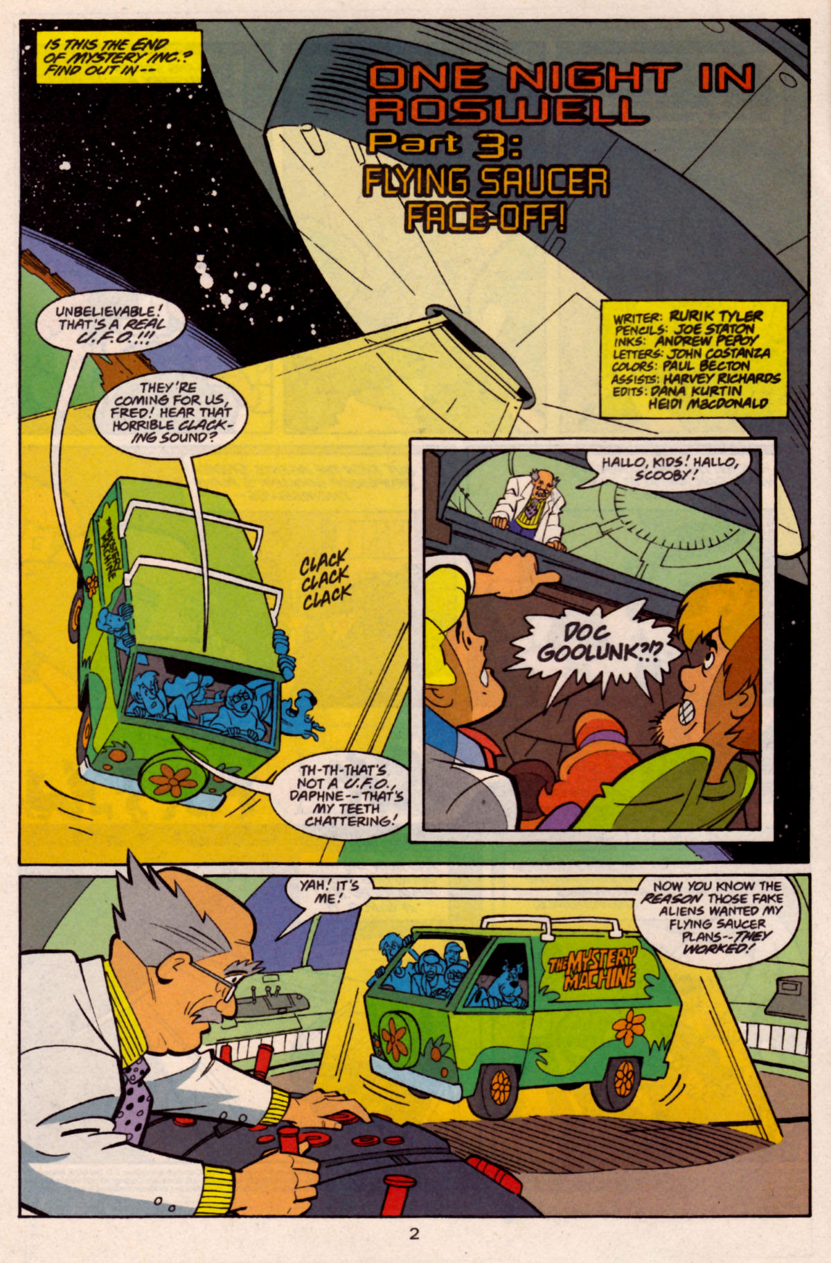 Read online Scooby-Doo (1997) comic -  Issue #27 - 3