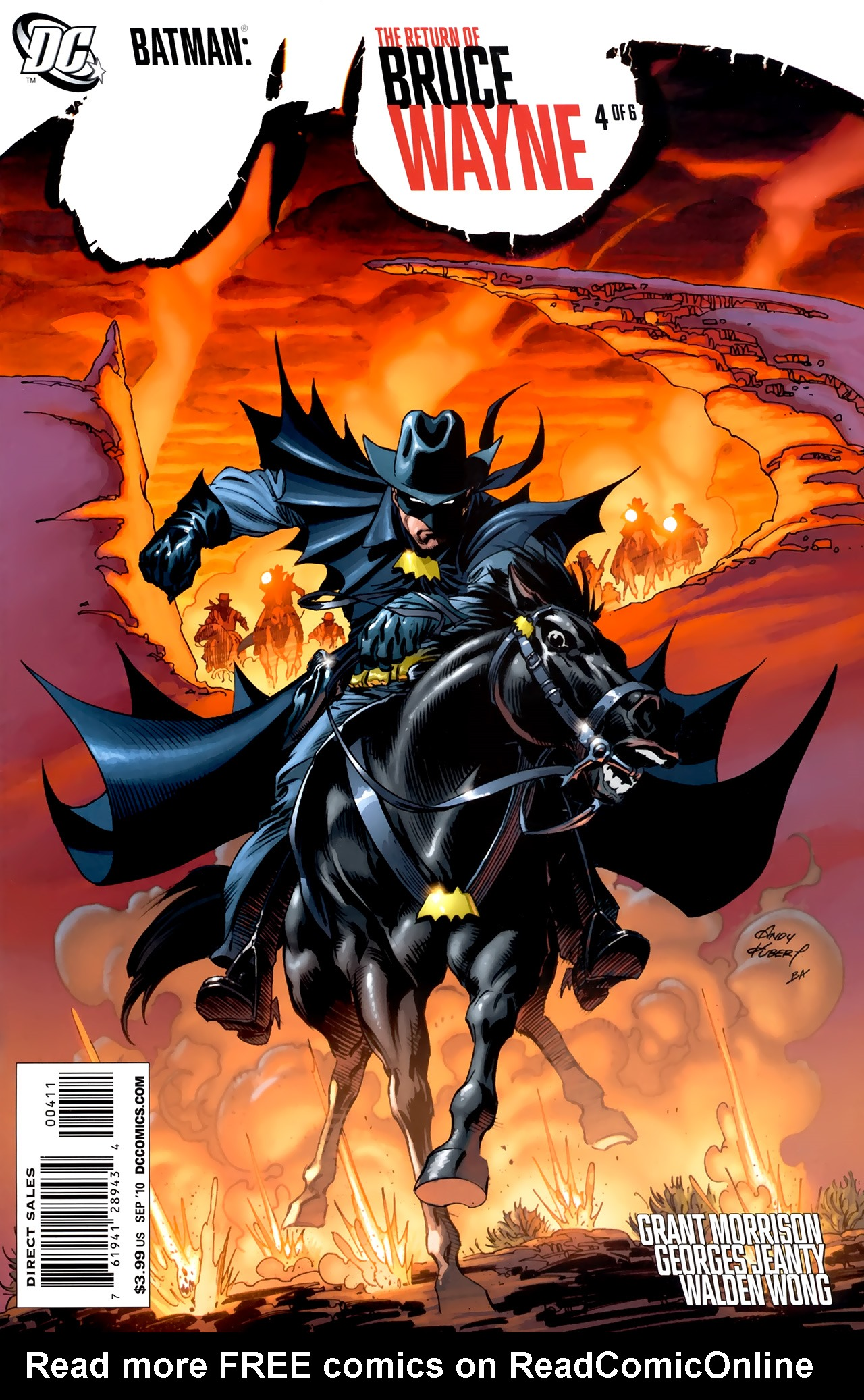Batman: The Return of Bruce Wayne 4 Page 1