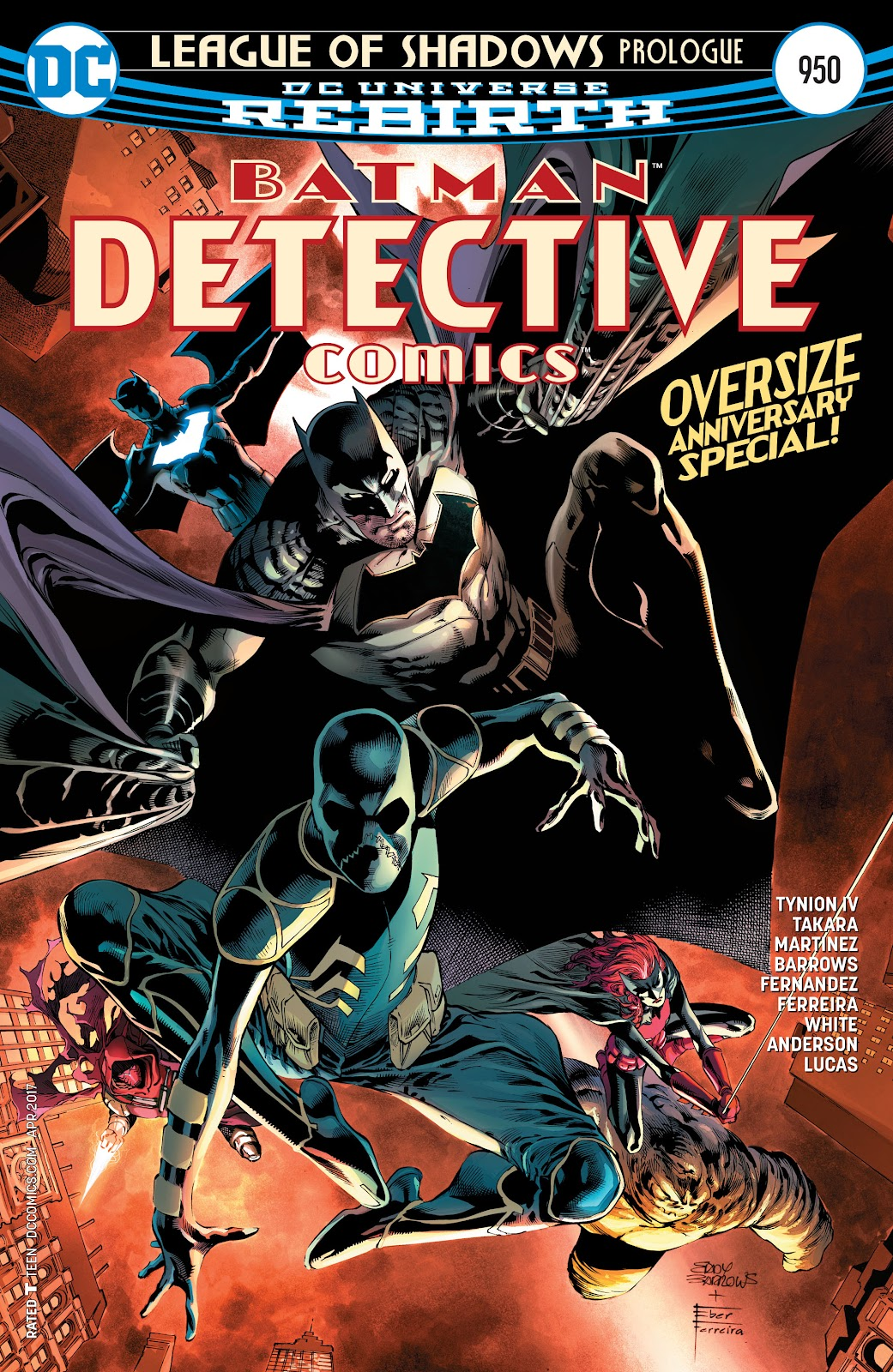 Detective Comics (2016) issue 950 - Page 1