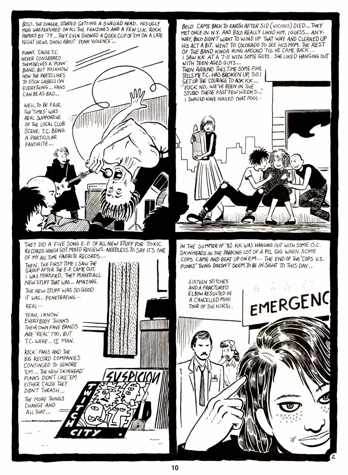 Love and Rockets (1982) Issue #5 #4 - English 12