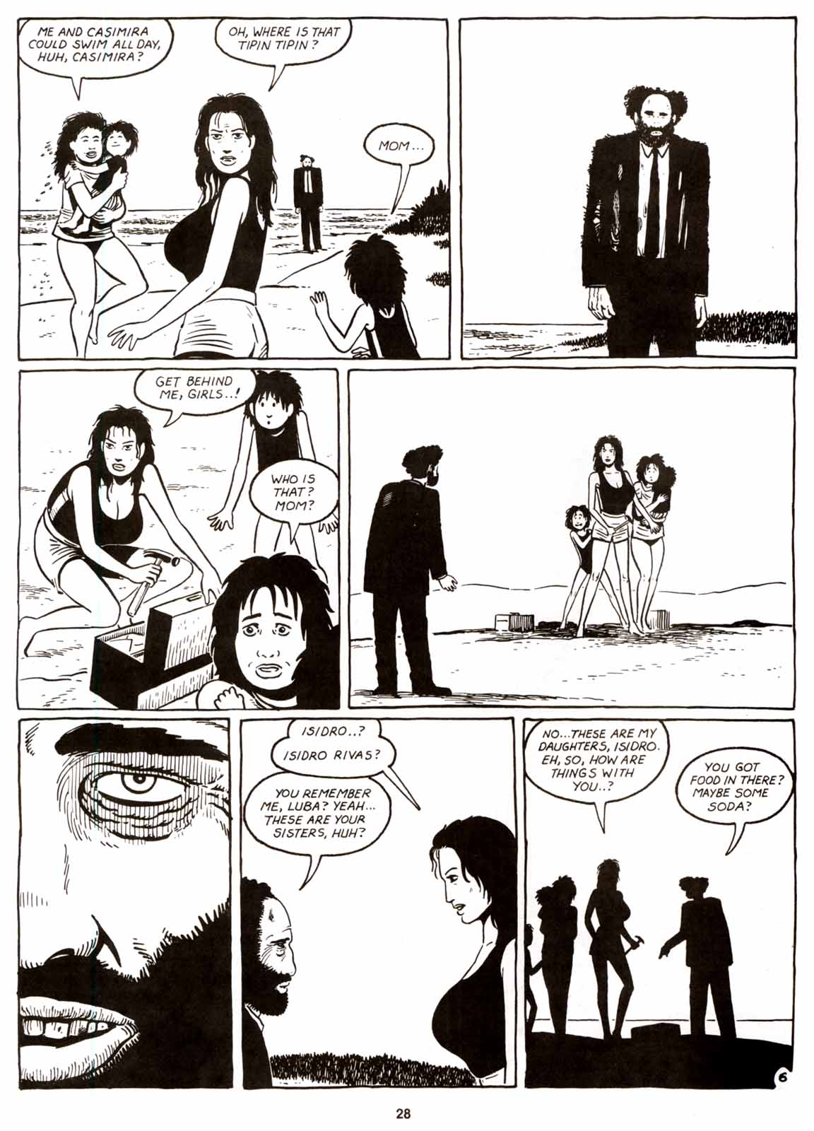 Love and Rockets (1982) Issue #8 #7 - English 30