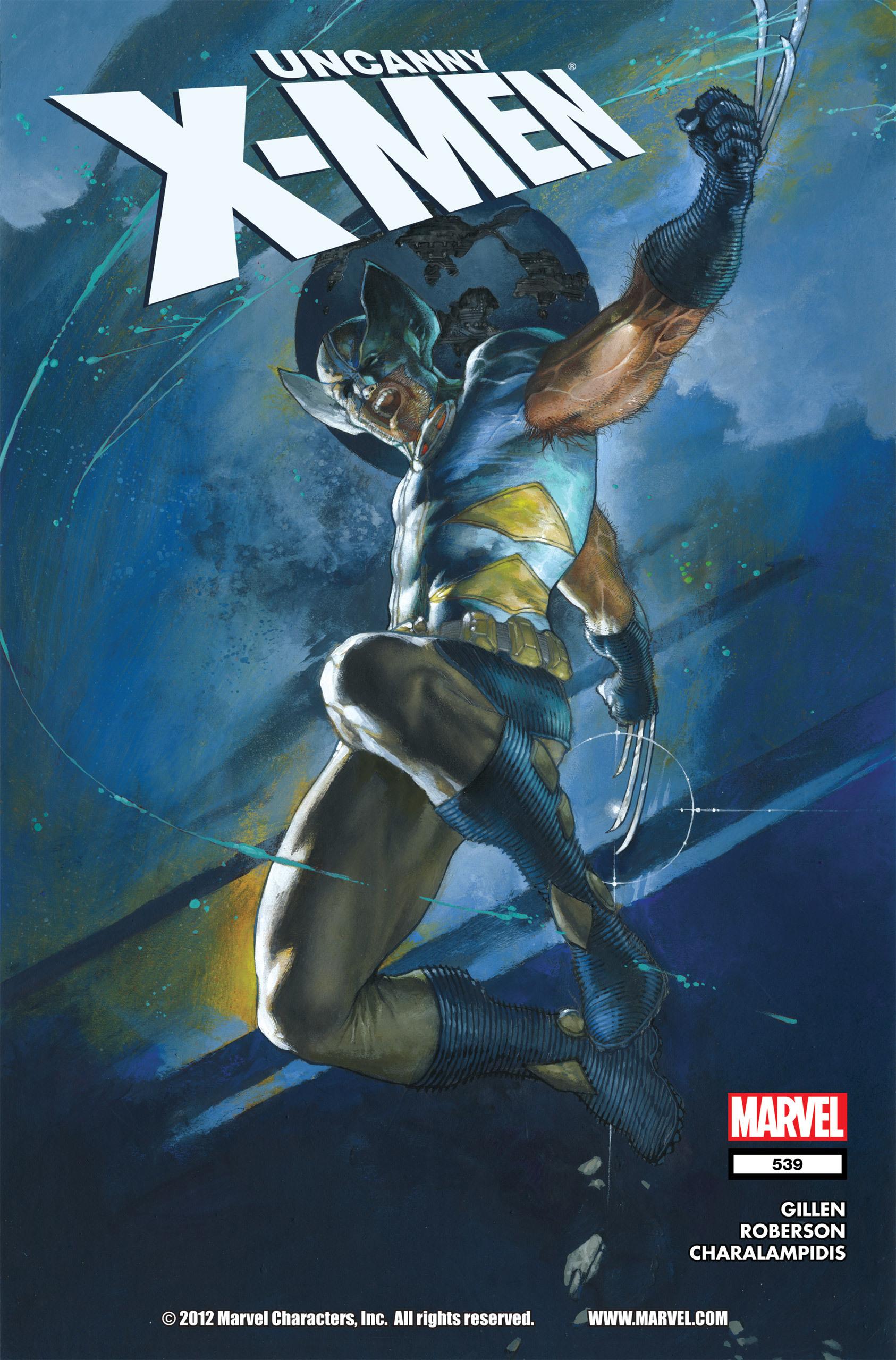 Uncanny X-Men (1963) 539 Page 1
