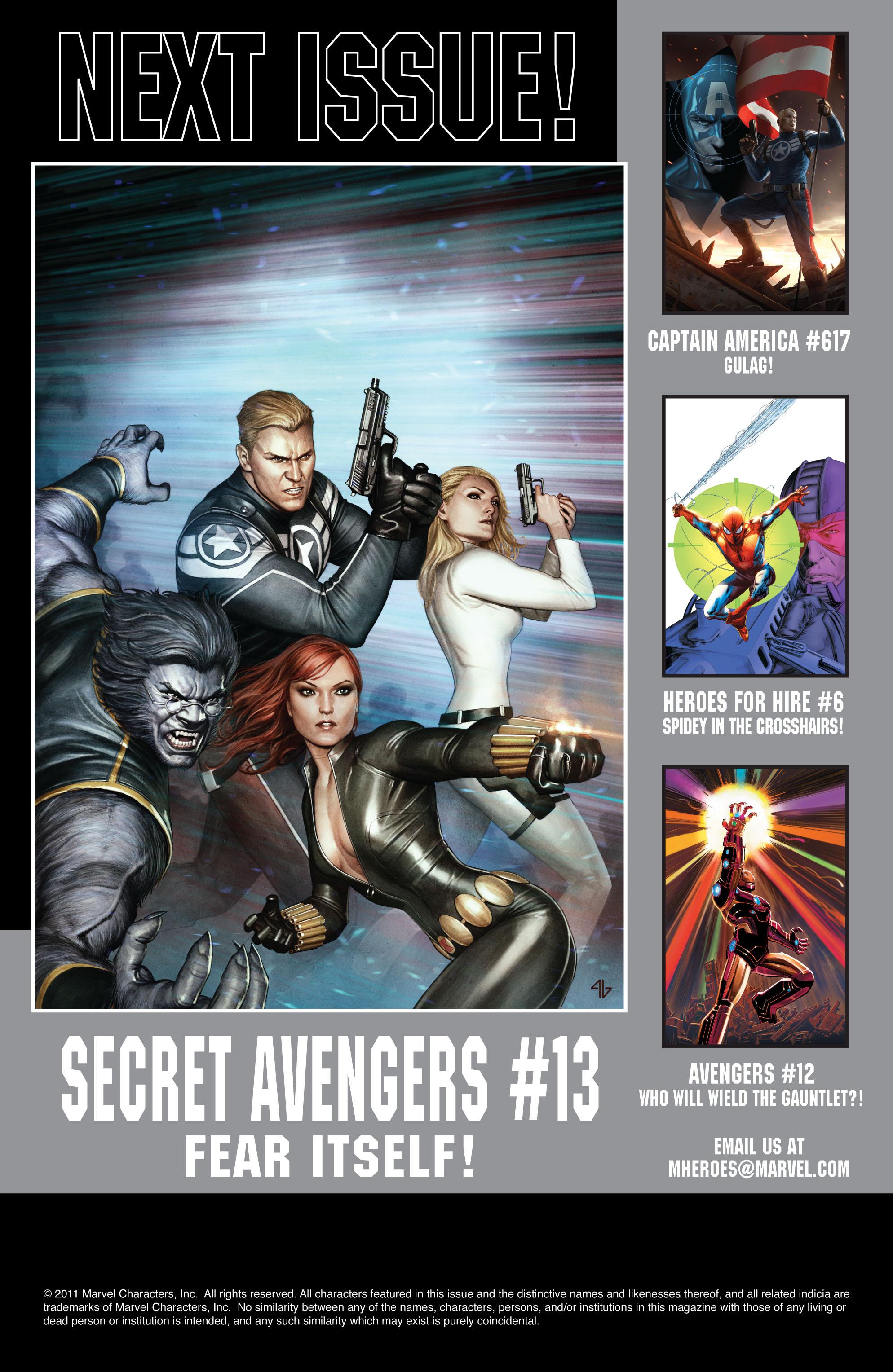 Read online Secret Avengers (2010) comic -  Issue #12.1 - 25