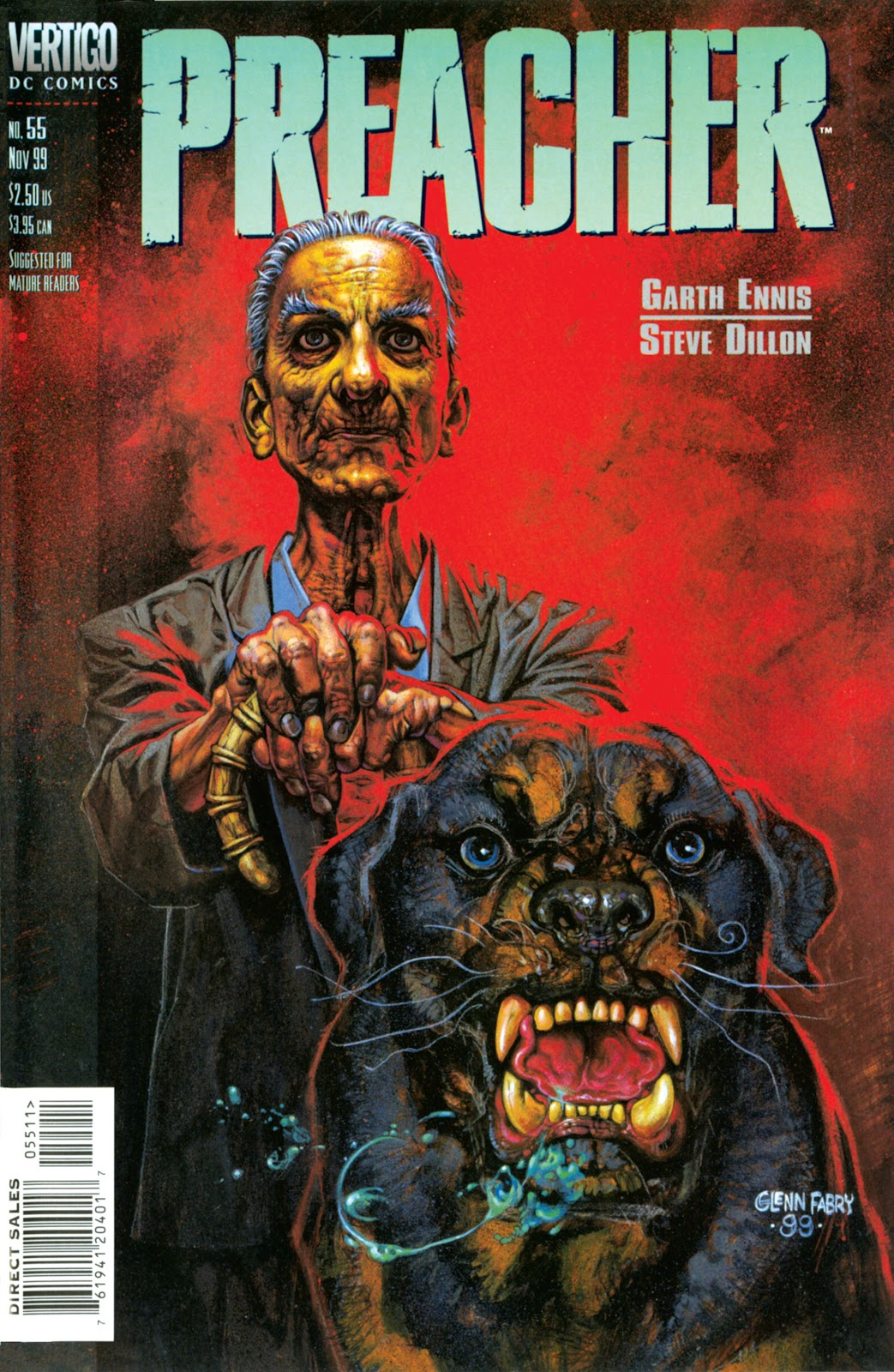 Preacher Issue #55 #64 - English 1