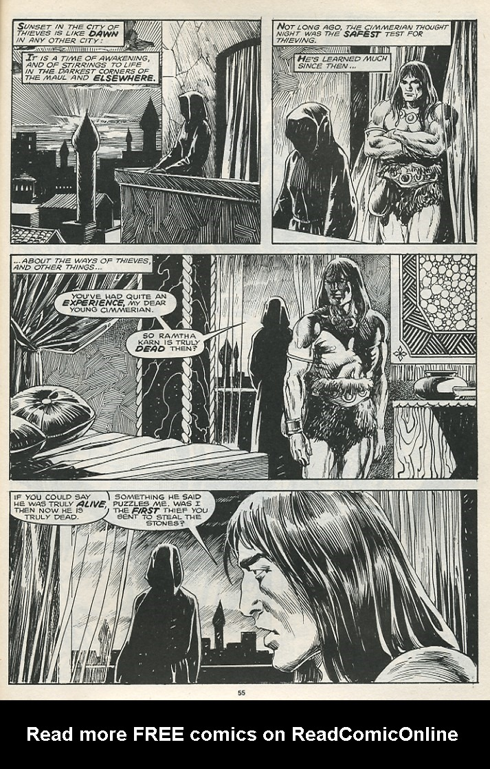 The Savage Sword Of Conan Issue #174 #175 - English 57